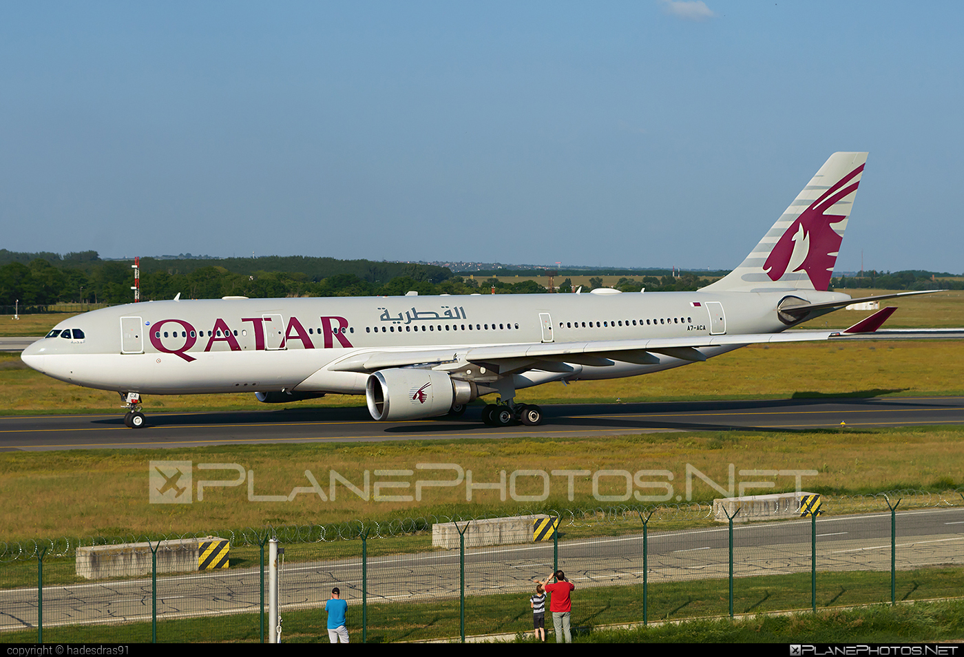 Airbus A330-202 - A7-ACA operated by Qatar Airways #a330 #a330family #airbus #airbus330 #qatarairways
