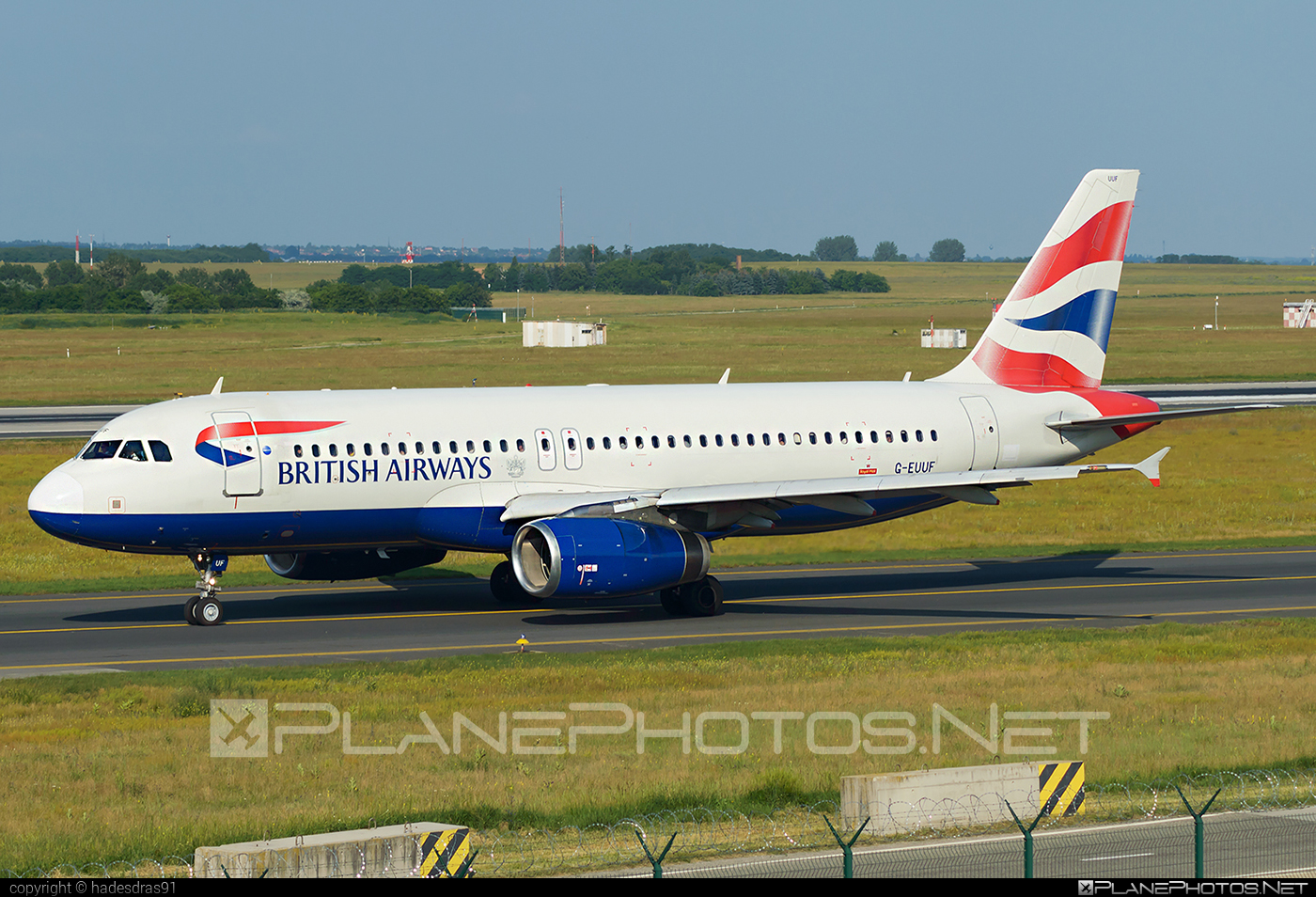 Airbus A320-232 - G-EUUF operated by British Airways #a320 #a320family #airbus #airbus320 #britishairways