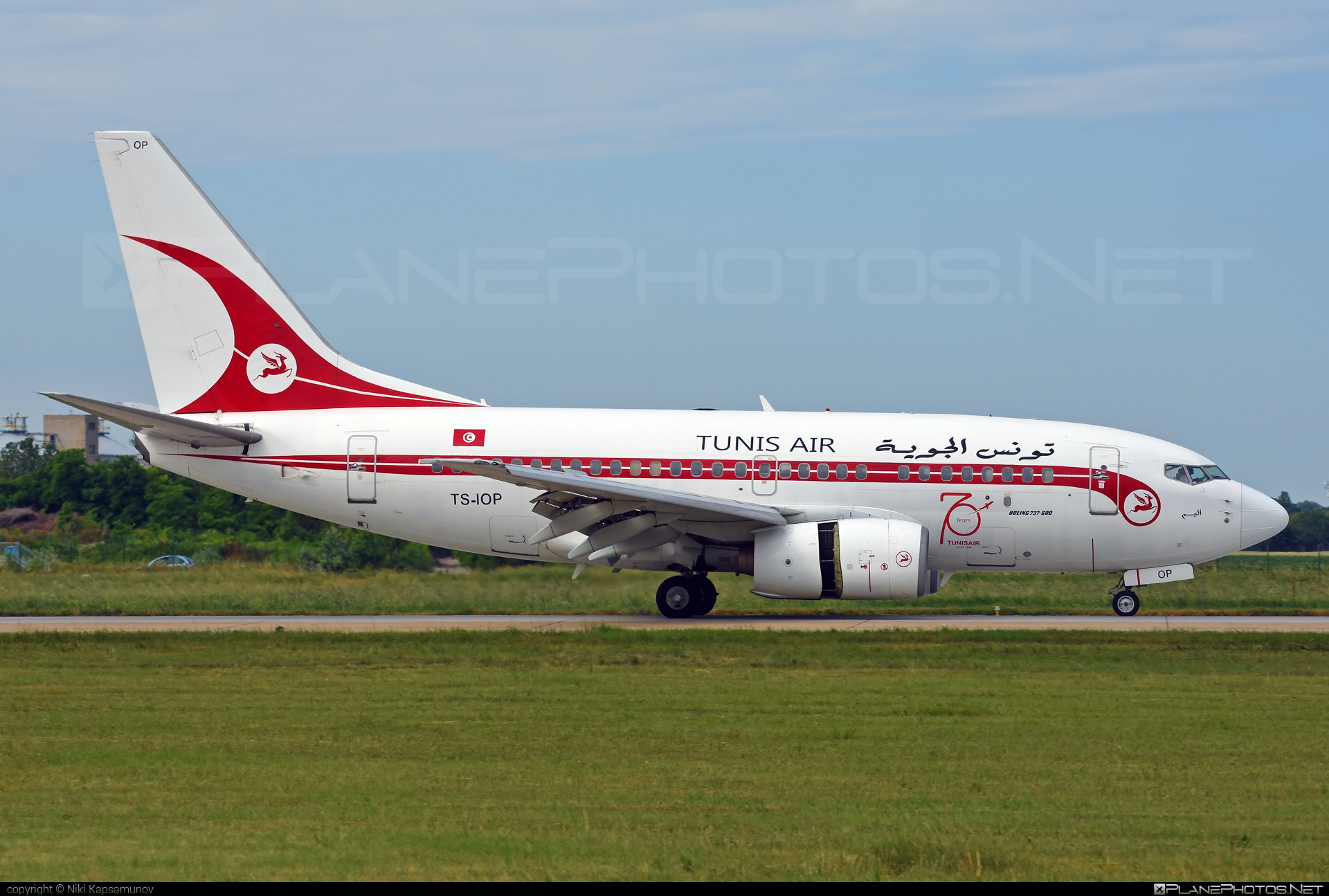 Boeing 737-600 - TS-IOP operated by Tunisair #b737 #b737nextgen #b737ng #boeing #boeing737 #tunisair