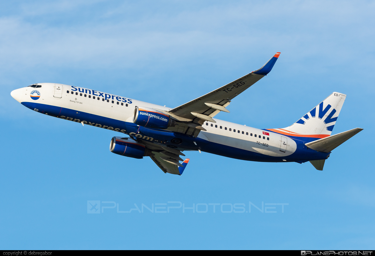 Boeing 737-800 - TC-SED operated by SunExpress #b737 #b737nextgen #b737ng #boeing #boeing737 #sunexpress