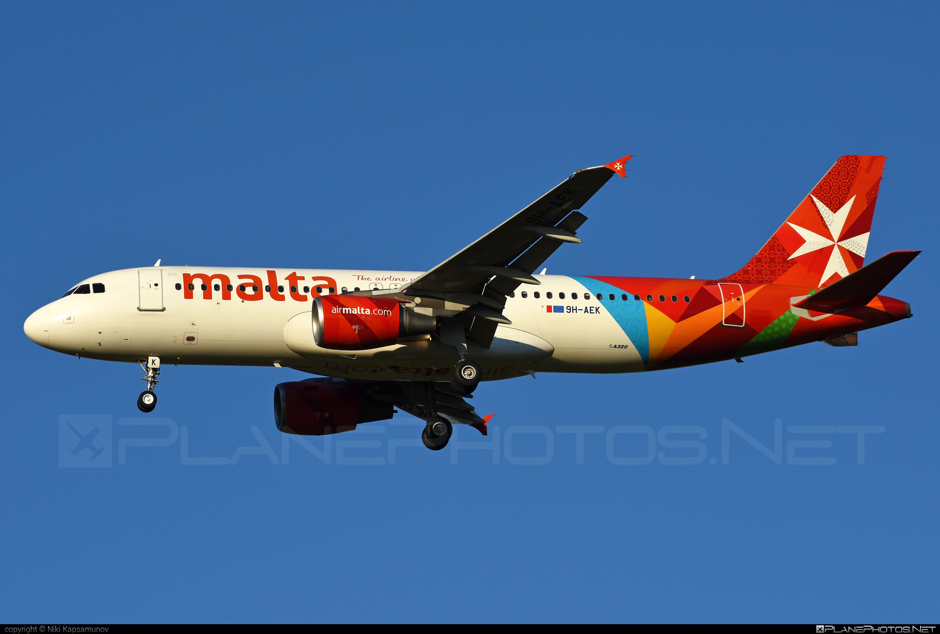 Airbus A320-214 - 9H-AEK operated by Air Malta #a320 #a320family #airbus #airbus320 #airmalta