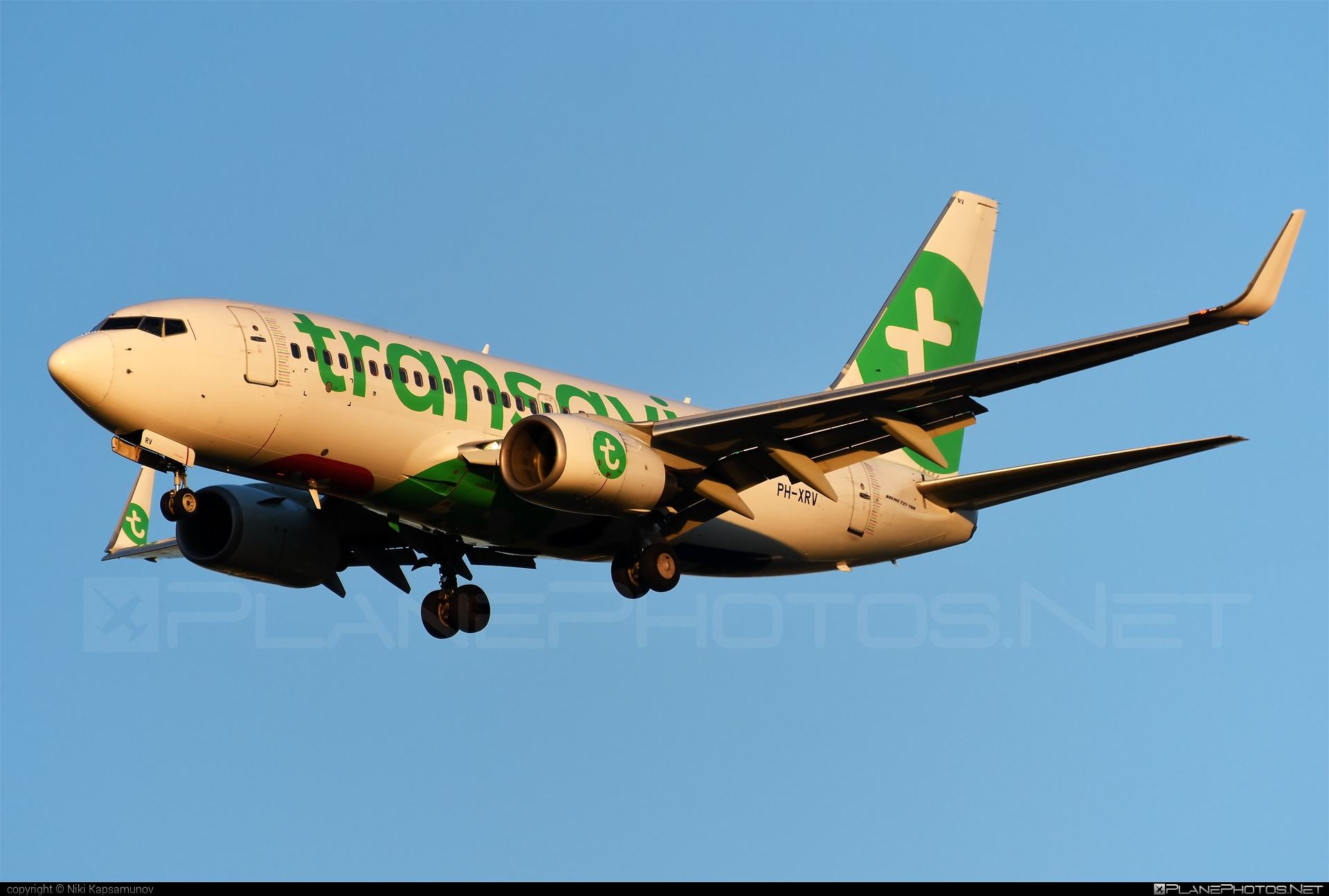 Boeing 737-700 - PH-XRV operated by Transavia Airlines #b737 #b737nextgen #b737ng #boeing #boeing737 #transavia #transaviaairlines