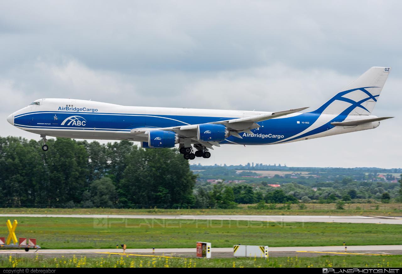 Boeing 747-8F - VQ-BGZ operated by AirBridgeCargo #airbridgecargo #b747 #b747f #b747freighter #boeing #boeing747 #jumbo