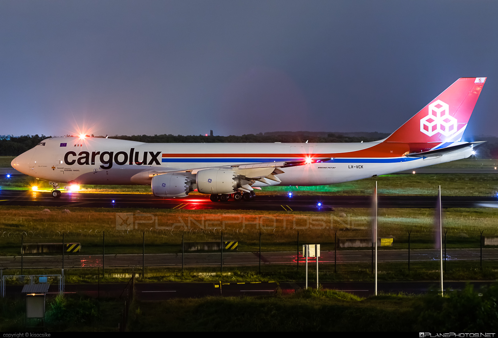 Boeing 747-8F - LX-VCK operated by Cargolux Airlines International #b747 #b747f #b747freighter #boeing #boeing747 #cargolux #jumbo