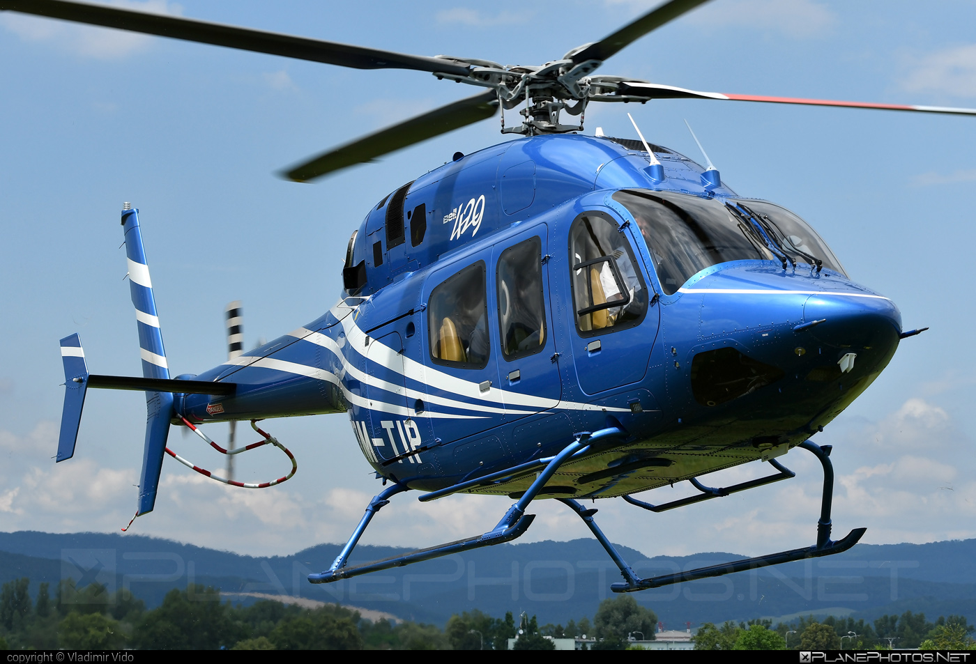 Bell 429 - OM-TIP operated by Private operator #bell #bellhelicopters