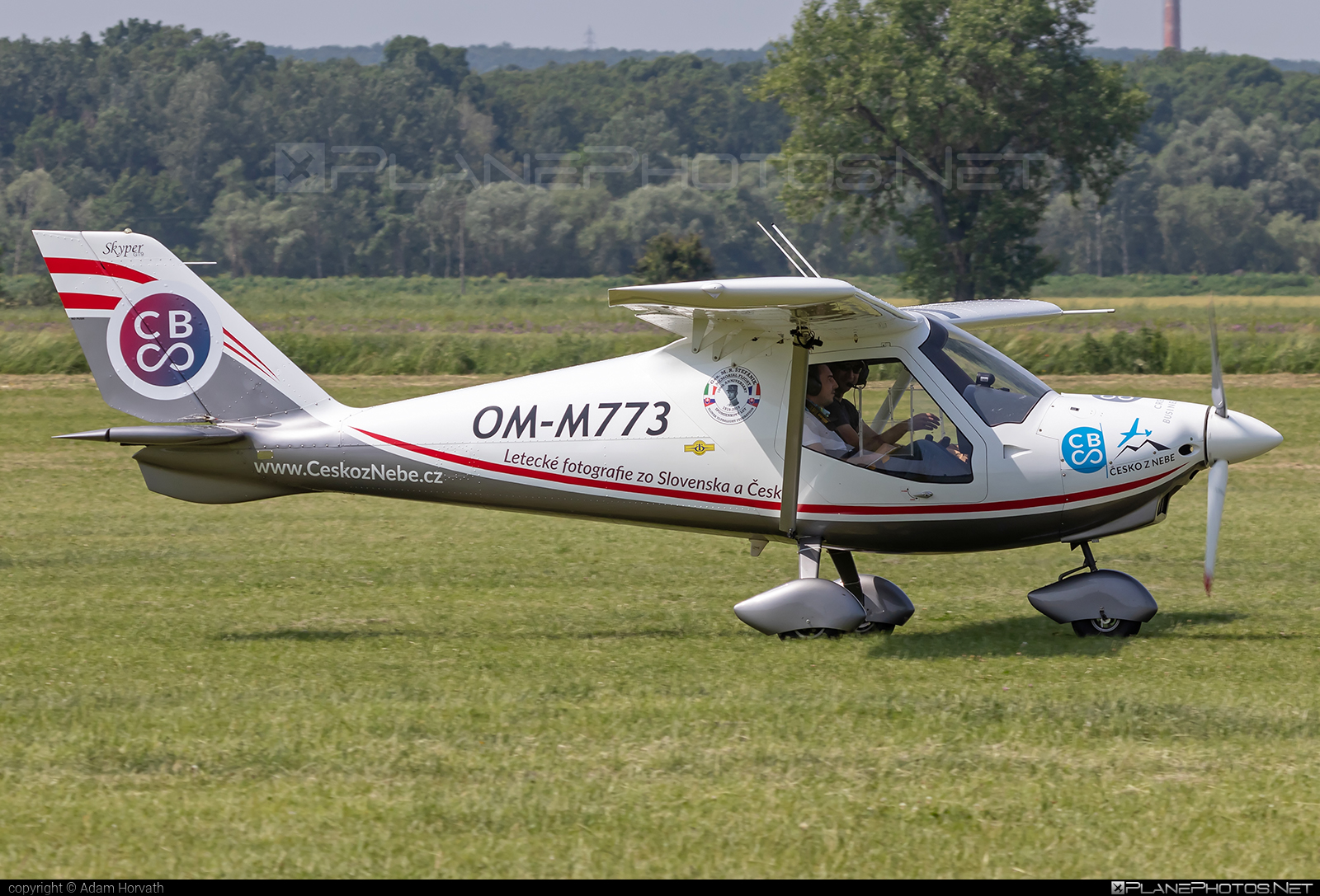 Tomark GT9 Skyper - OM-M773 operated by Private operator #gt9skyper #tomark