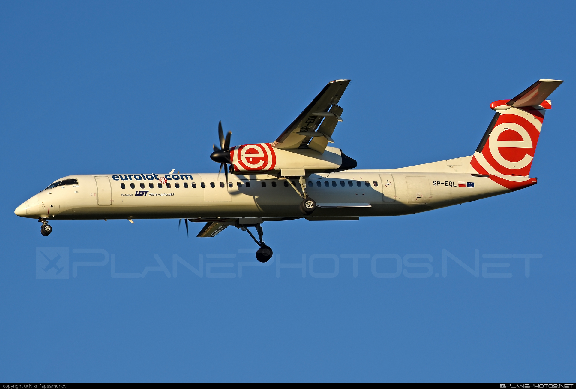 Bombardier DHC-8-Q402 Dash 8 - SP-EQL operated by LOT Polish Airlines #bombardier #lot #lotpolishairlines