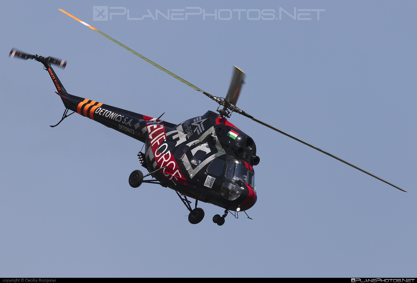 Mil Mi-2 - HA-BCL operated by Forgószárny Kft. #mil #milhelicopters