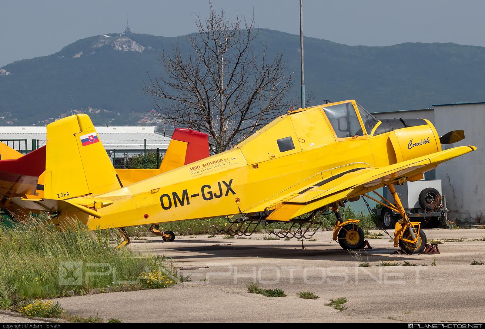 Zlin Z-37A Čmelák - OM-GJX operated by AERO SLOVAKIA #aeroslovakia #cmelak #z37 #z37a #zlin #zlin37 #zlin37cmelak