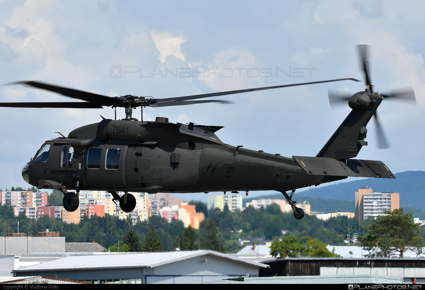 Sikorsky UH-60M Black Hawk - 7641 operated by Vzdušné sily OS SR (Slovak Air Force) #blackhawk #sikorsky #slovakairforce #uh60 #uh60blackhawk #uh60m #vzdusnesilyossr