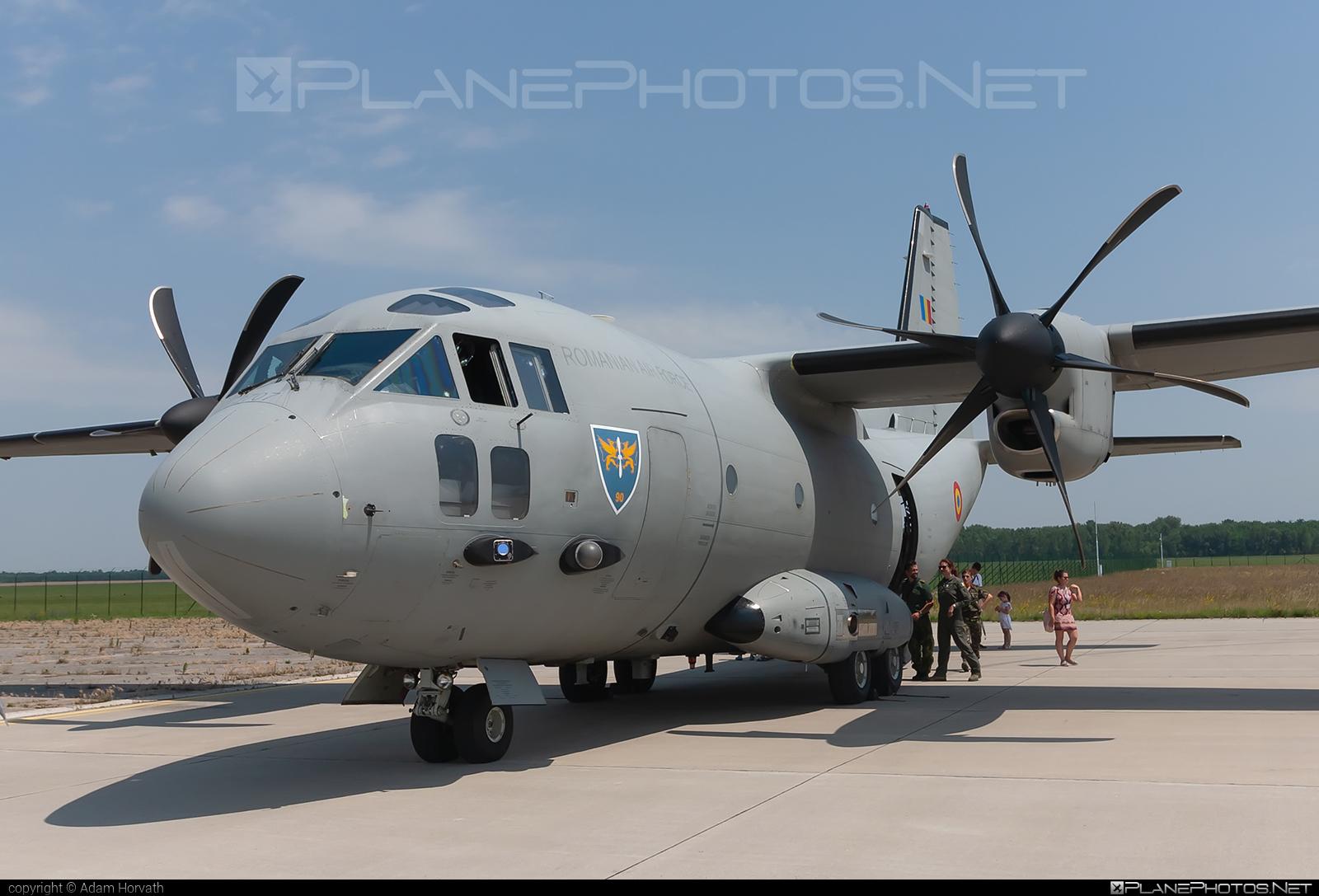 Alenia C-27J Spartan - 2707 operated by Forţele Aeriene Române (Romanian Air Force) #alenia #aleniac27j #aleniac27jspartan #aleniaspartan #c27j #c27jspartan #c27spartan #forteleaerieneromane #romanianairforce