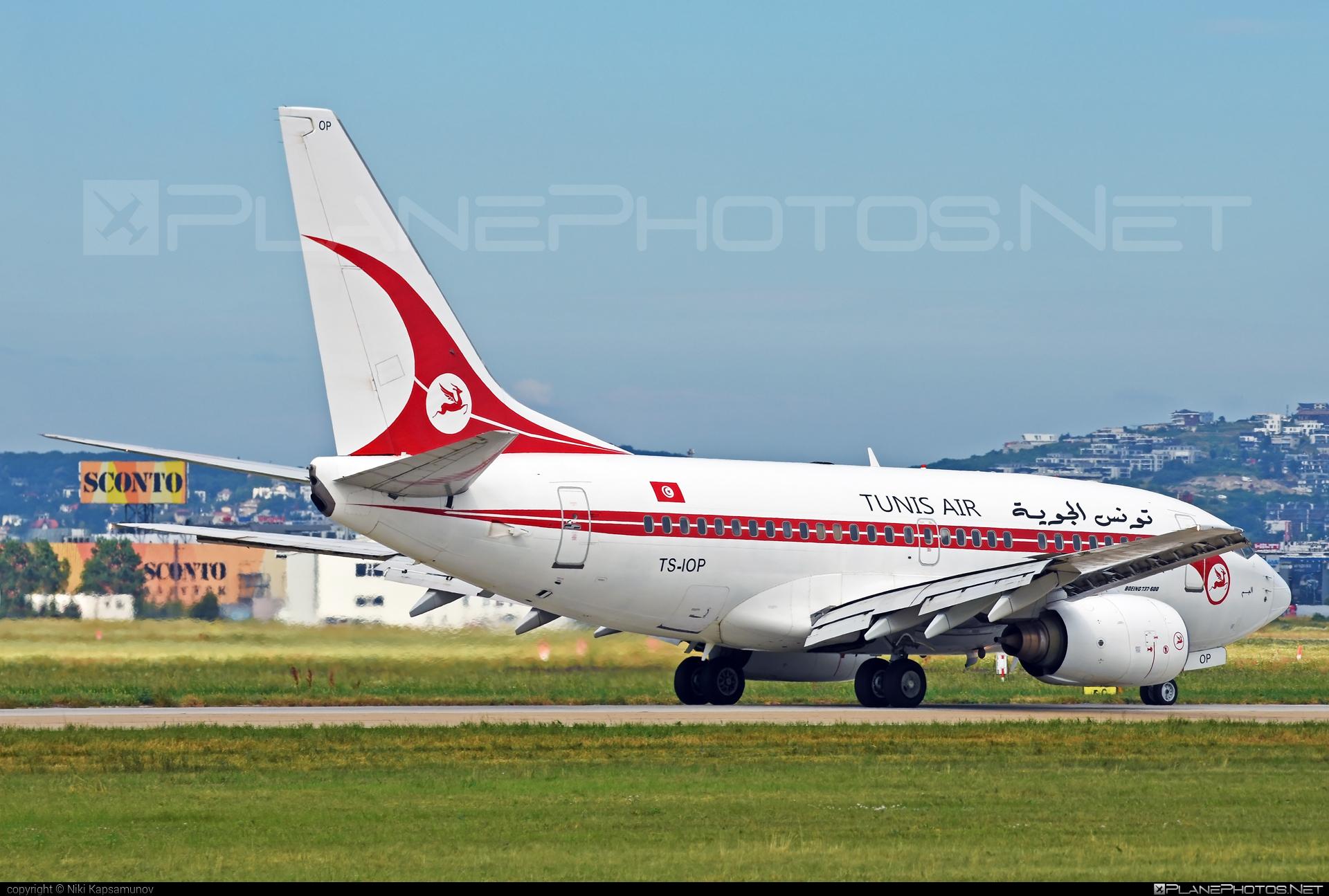 Boeing 737-600 - TS-IOP operated by Tunisair #b737 #b737nextgen #b737ng #boeing #boeing737 #tunisair
