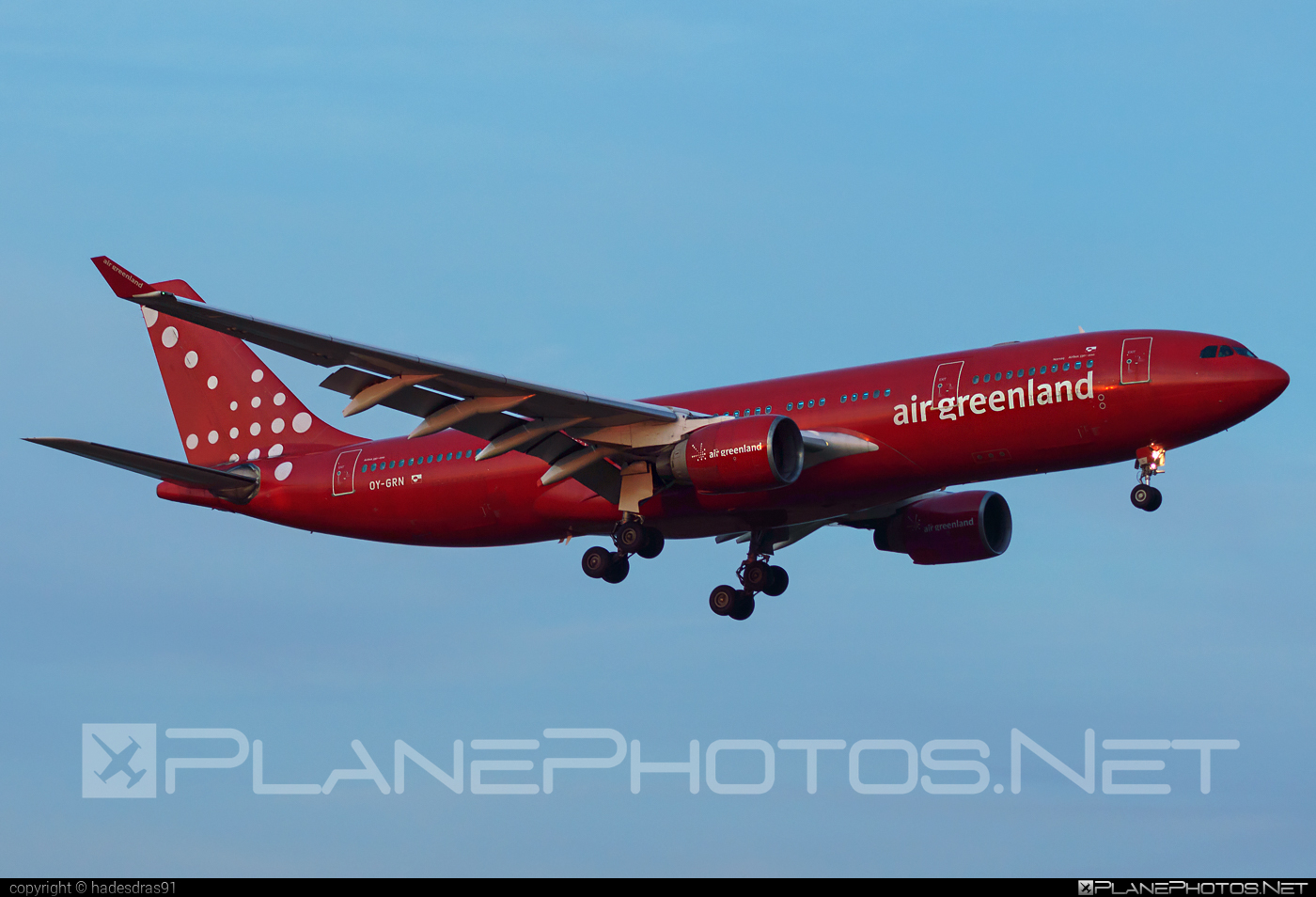 Airbus A330-223 - OY-GRN operated by Air Greenland #a330 #a330family #airbus #airbus330