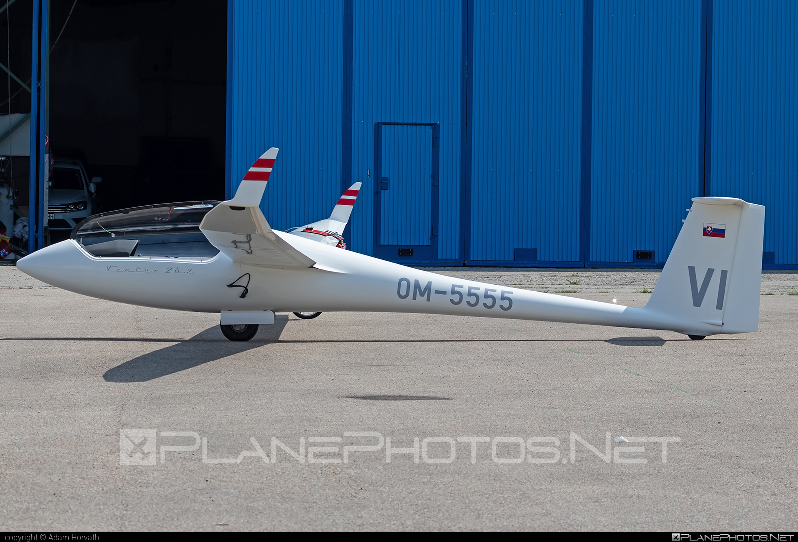 Schempp-Hirth Ventus-2bx - OM-5555 operated by Private operator #schempphirth