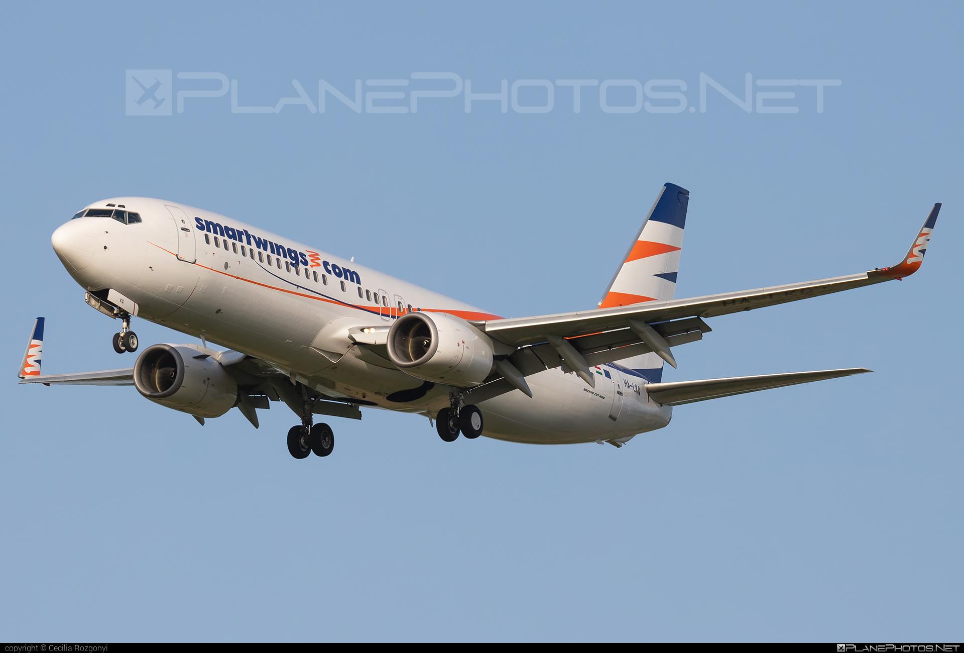 Boeing 737-800 - HA-LKG operated by Smart Wings #b737 #b737nextgen #b737ng #boeing #boeing737 #smartwings