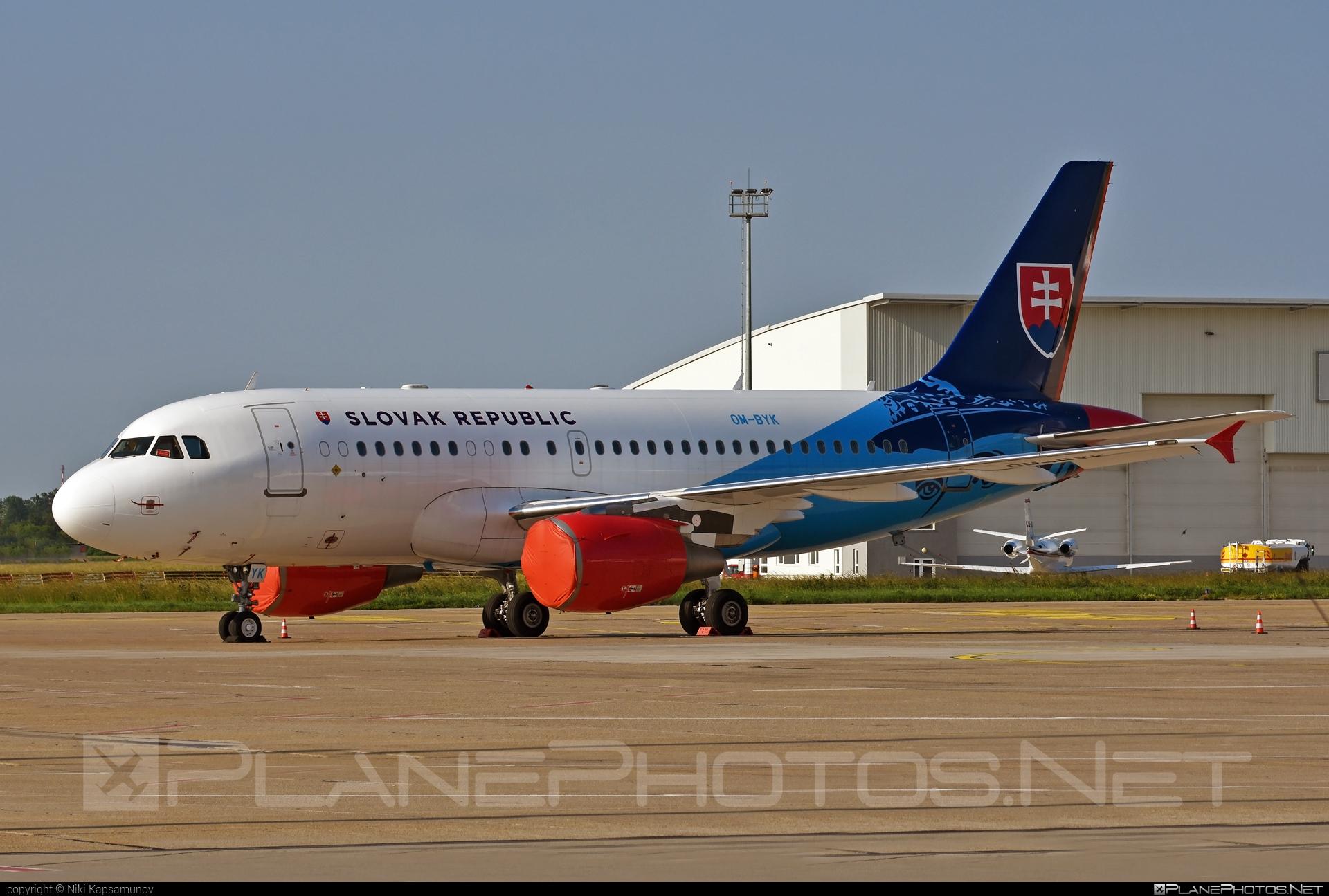 Airbus ACJ319-115X - OM-BYK operated by Letecký útvar MV SR (Slovak Government Flying Service) #acj319 #acj319115x #airbus #airbuscorporatejet