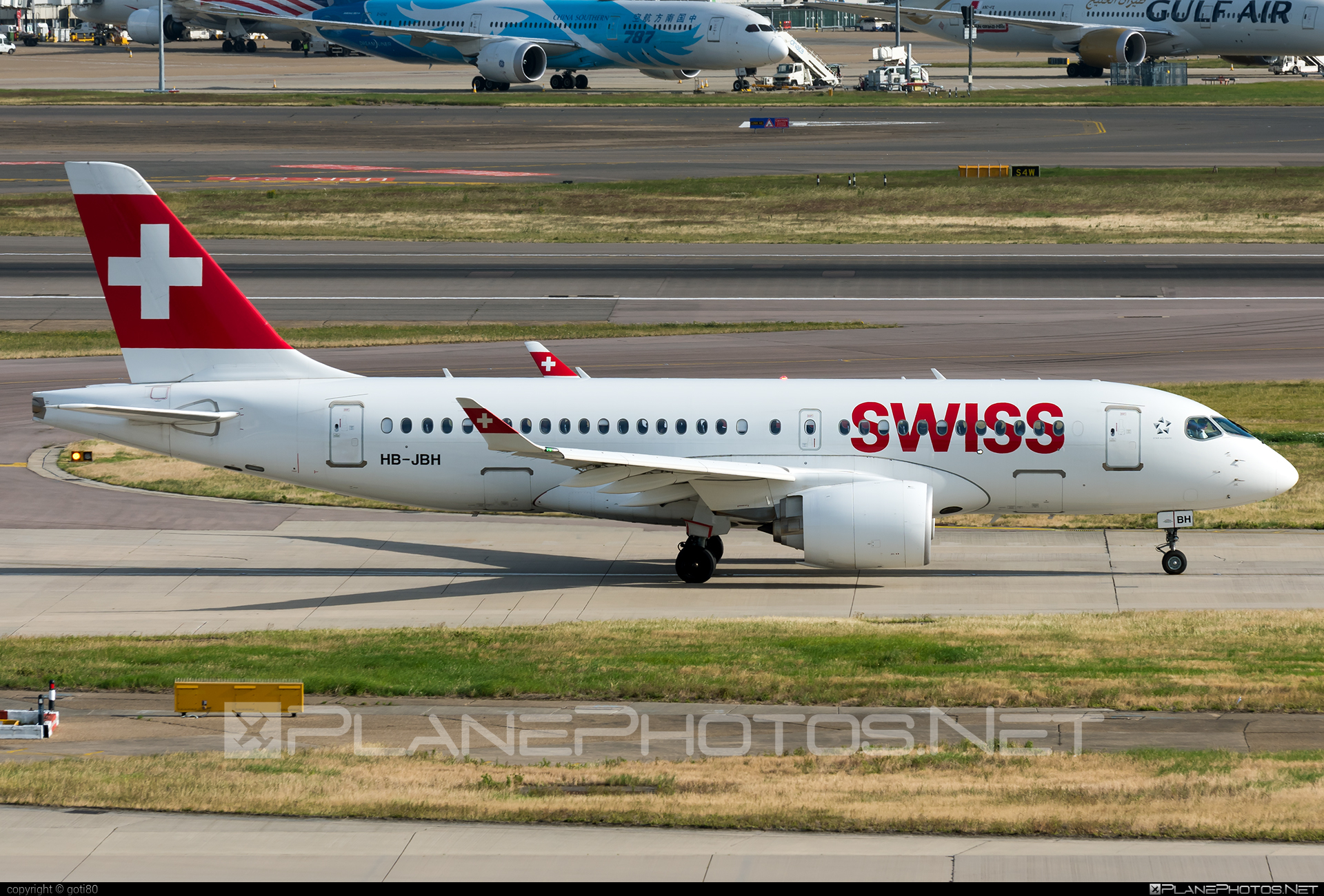 Bombardier BD-500-1A10 C Series CS100 - HB-JBH operated by Swiss International Air Lines #bombardier #cs100 #cseries #cseries100 #swiss #swissairlines