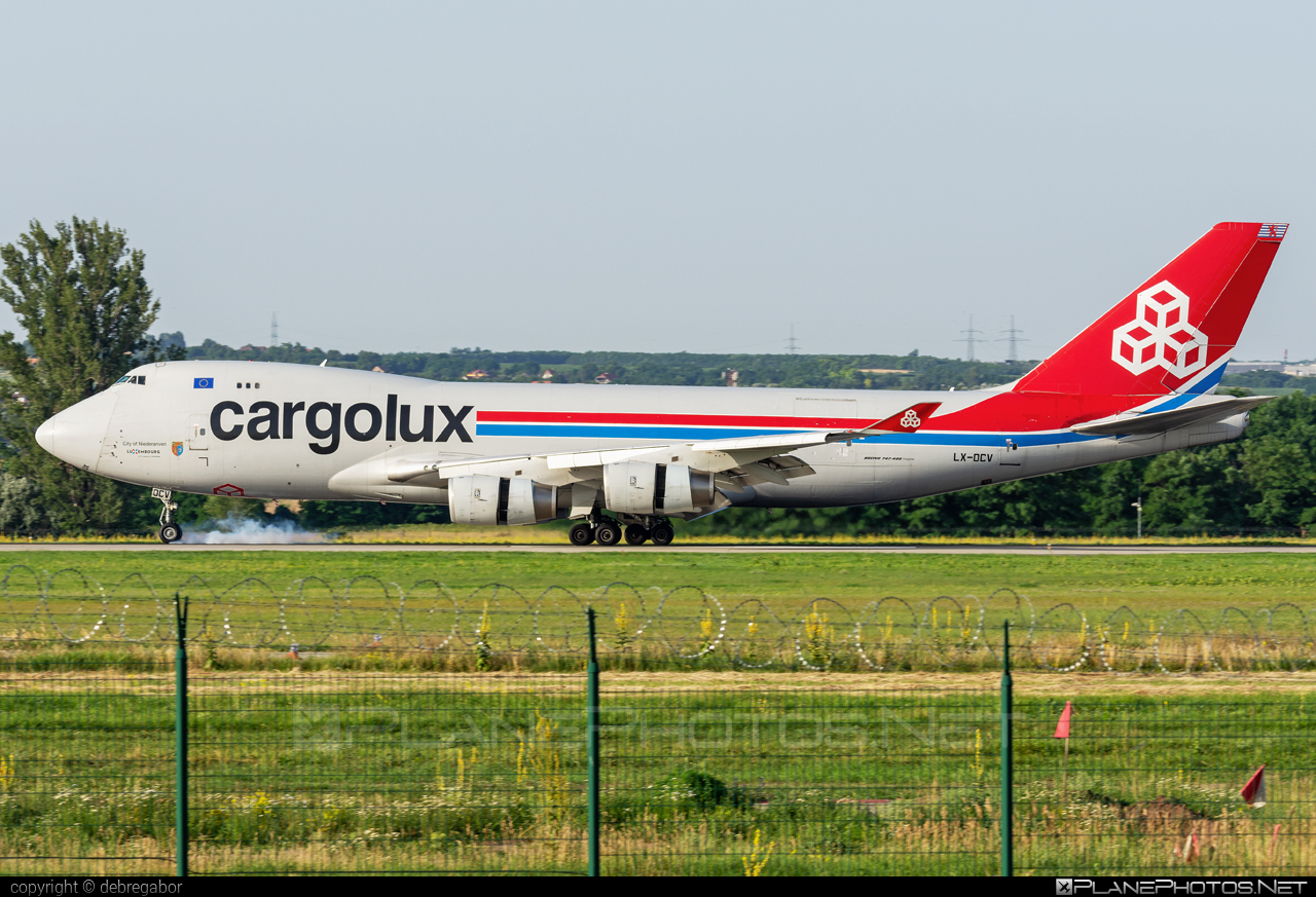 Boeing 747-400F - LX-OCV operated by Cargolux Airlines International #b747 #boeing #boeing747 #cargolux #jumbo