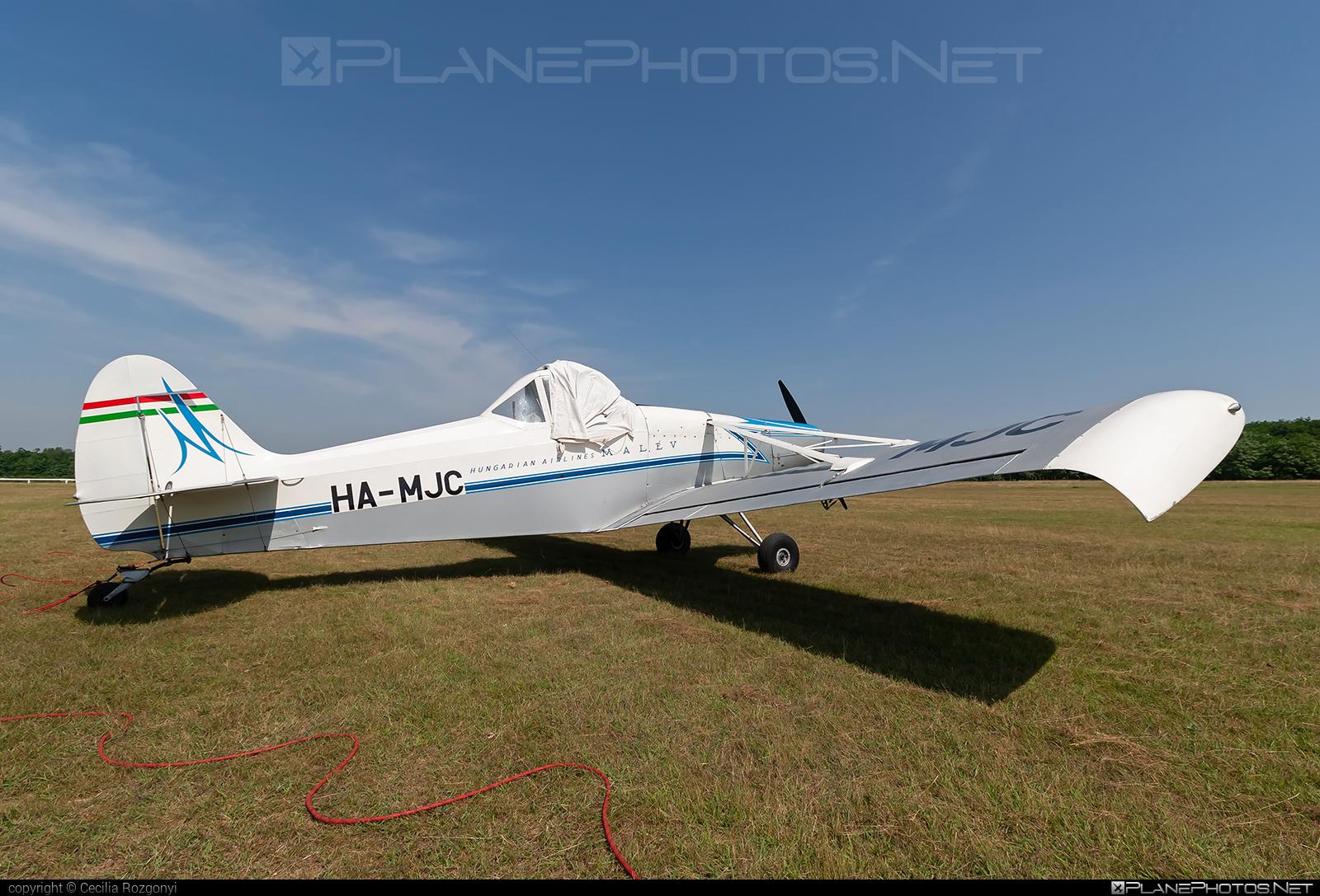 Piper PA-25-235 Pawnee B - HA-MJC operated by Malév Aero Club #malevaeroclub #piper
