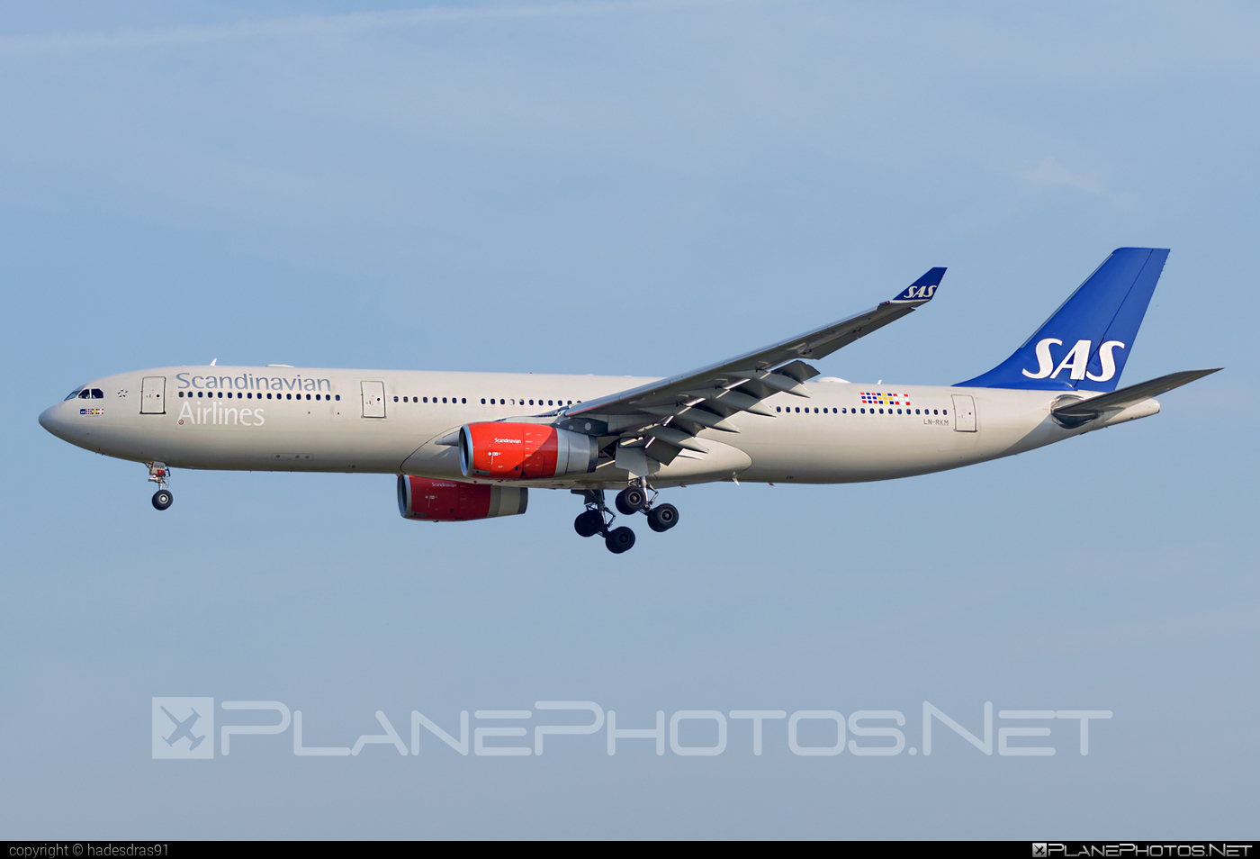 Airbus A330-343 - LN-RKM operated by Scandinavian Airlines (SAS) #a330 #a330family #airbus #airbus330 #sas #sasairlines #scandinavianairlines