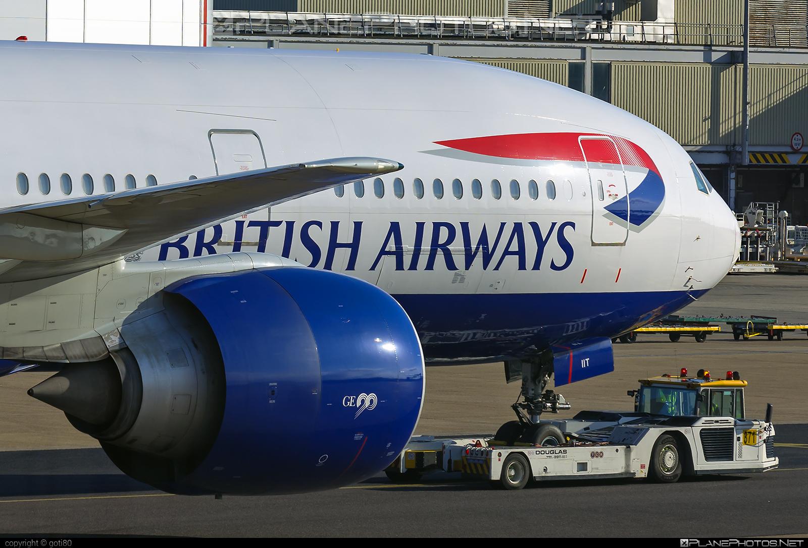 Boeing 777-200ER - G-VIIT operated by British Airways #b777 #b777er #boeing #boeing777 #britishairways #tripleseven
