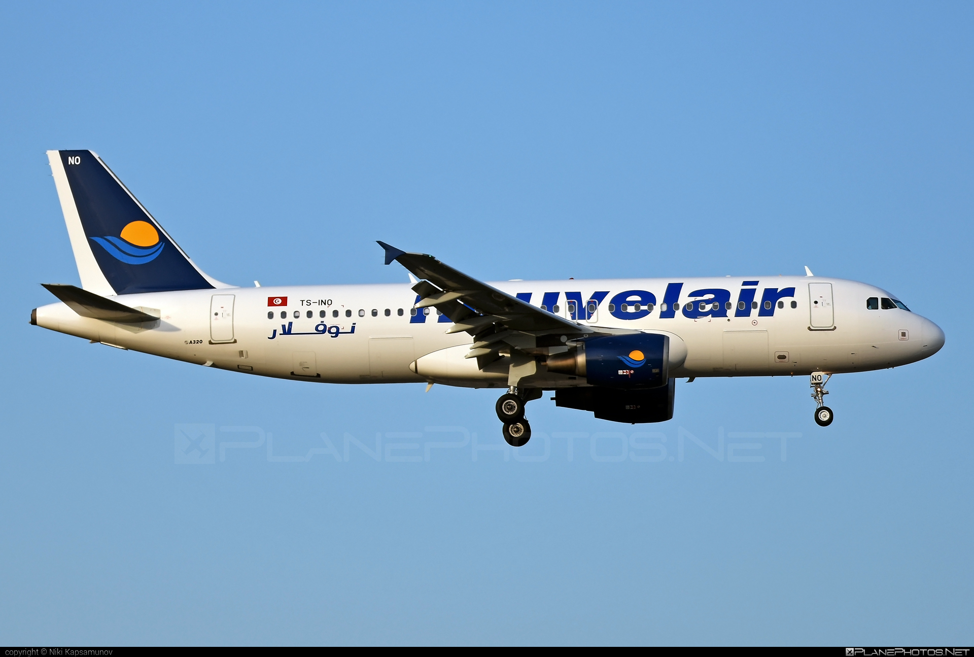 Airbus A320-214 - TS-INO operated by Nouvelair #a320 #a320family #airbus #airbus320