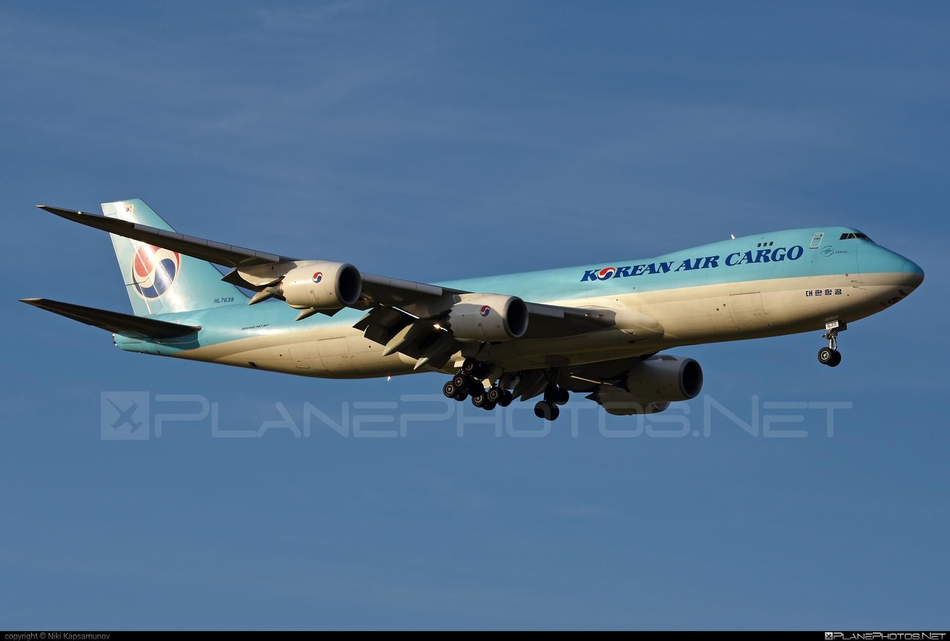Boeing 747-8F - HL7639 operated by Korean Air Cargo #b747 #b747f #b747freighter #boeing #boeing747 #jumbo #koreanair #koreanaircargo
