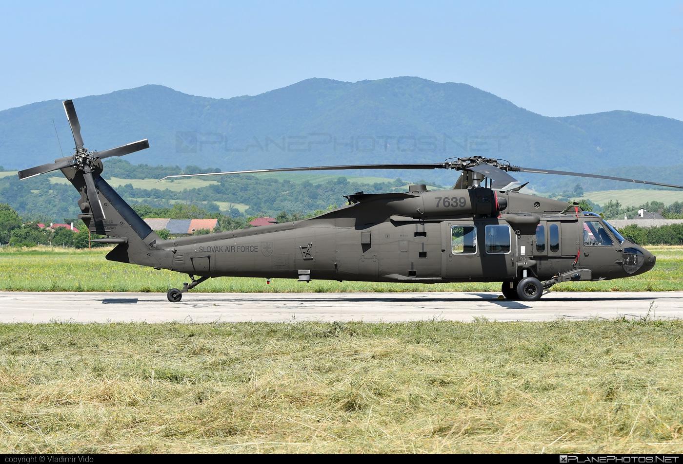 Sikorsky UH-60M Black Hawk - 7639 operated by Vzdušné sily OS SR (Slovak Air Force) #blackhawk #sikorsky #slovakairforce #uh60 #uh60blackhawk #uh60m #vzdusnesilyossr