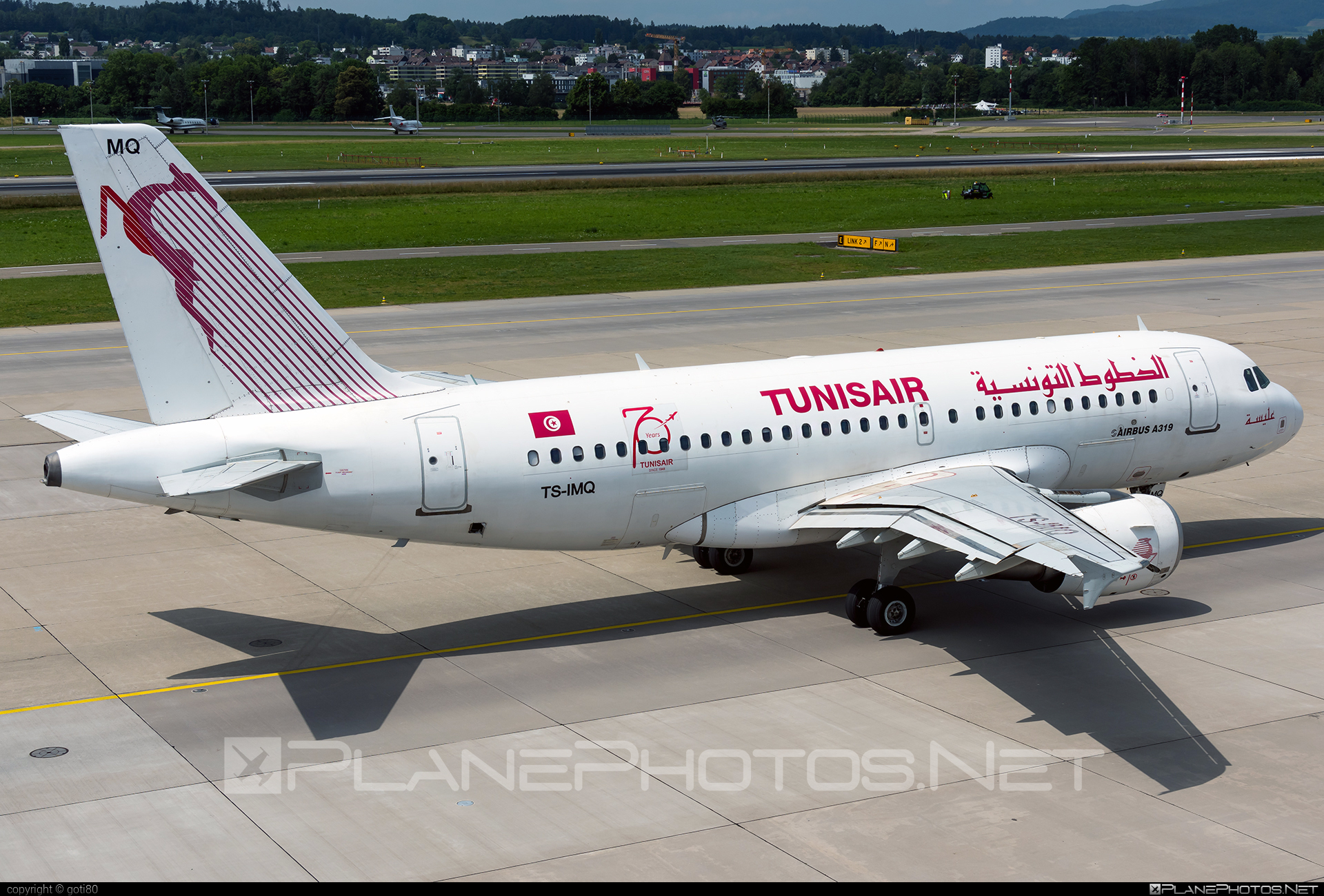 Airbus A319-112 - TS-IMQ operated by Tunisair #a319 #a320family #airbus #airbus319 #tunisair