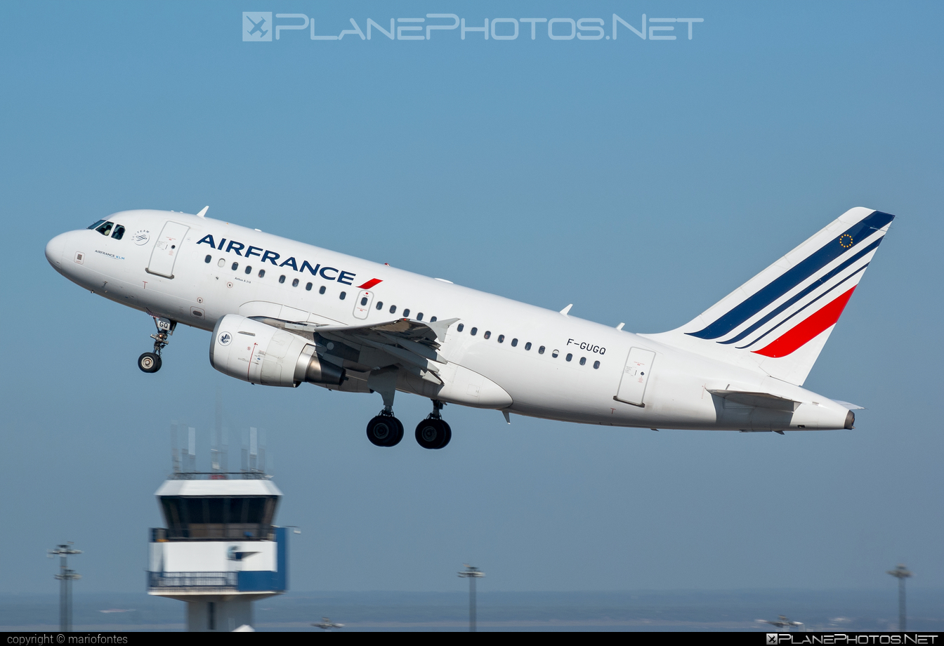 Airbus A318-111 - F-GUGQ operated by Air France #a318 #a320family #airbus #airbus318 #airfrance
