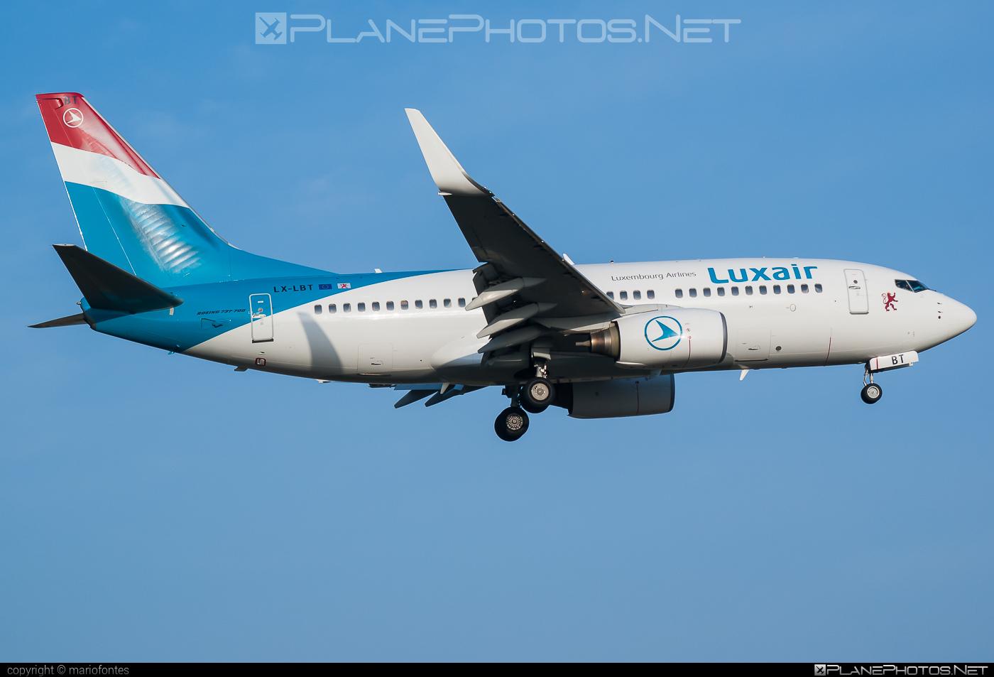Boeing 737-700 - LX-LBT operated by Luxair #b737 #b737nextgen #b737ng #boeing #boeing737