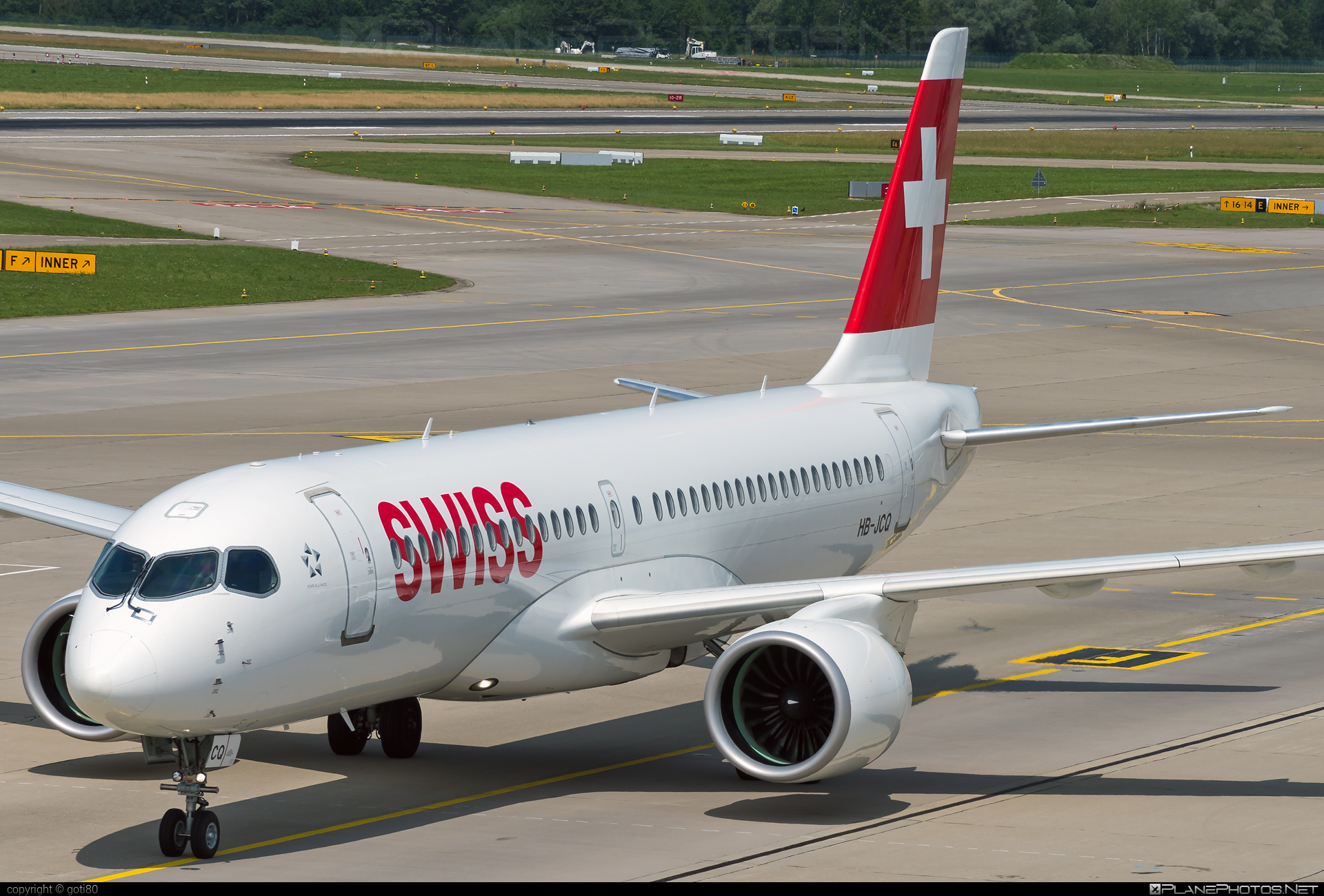 Airbus A220-300 - HB-JCQ operated by Swiss International Air Lines #a220300 #a220family #airbus #cs300 #cseries #cseries300 #swiss #swissairlines