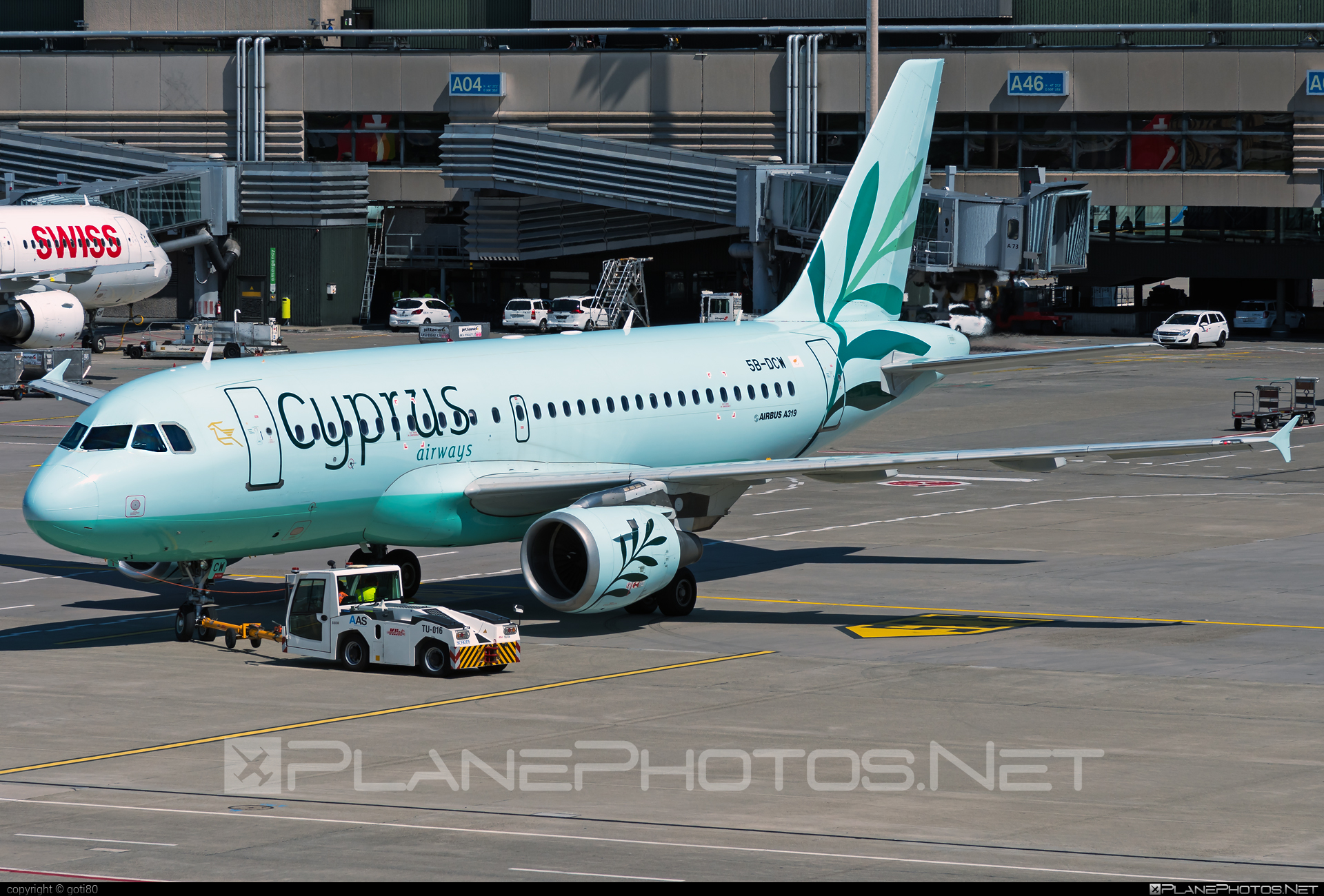 Airbus A319-114 - 5B-DCW operated by Cyprus Airways #a319 #a320family #airbus #airbus319