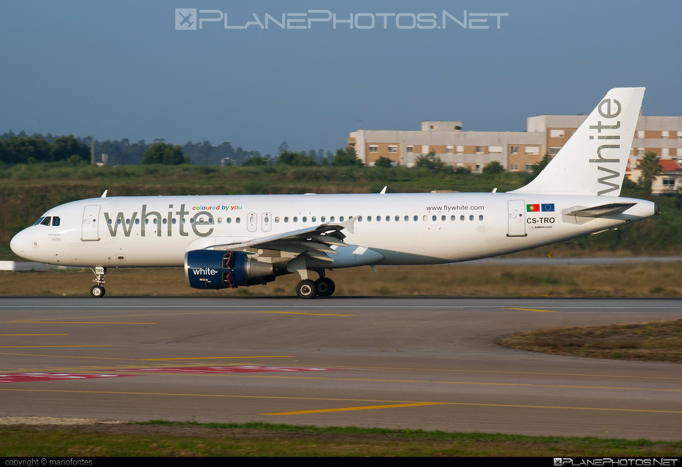 Airbus A320-214 - CS-TRO operated by White Airways #a320 #a320family #airbus #airbus320
