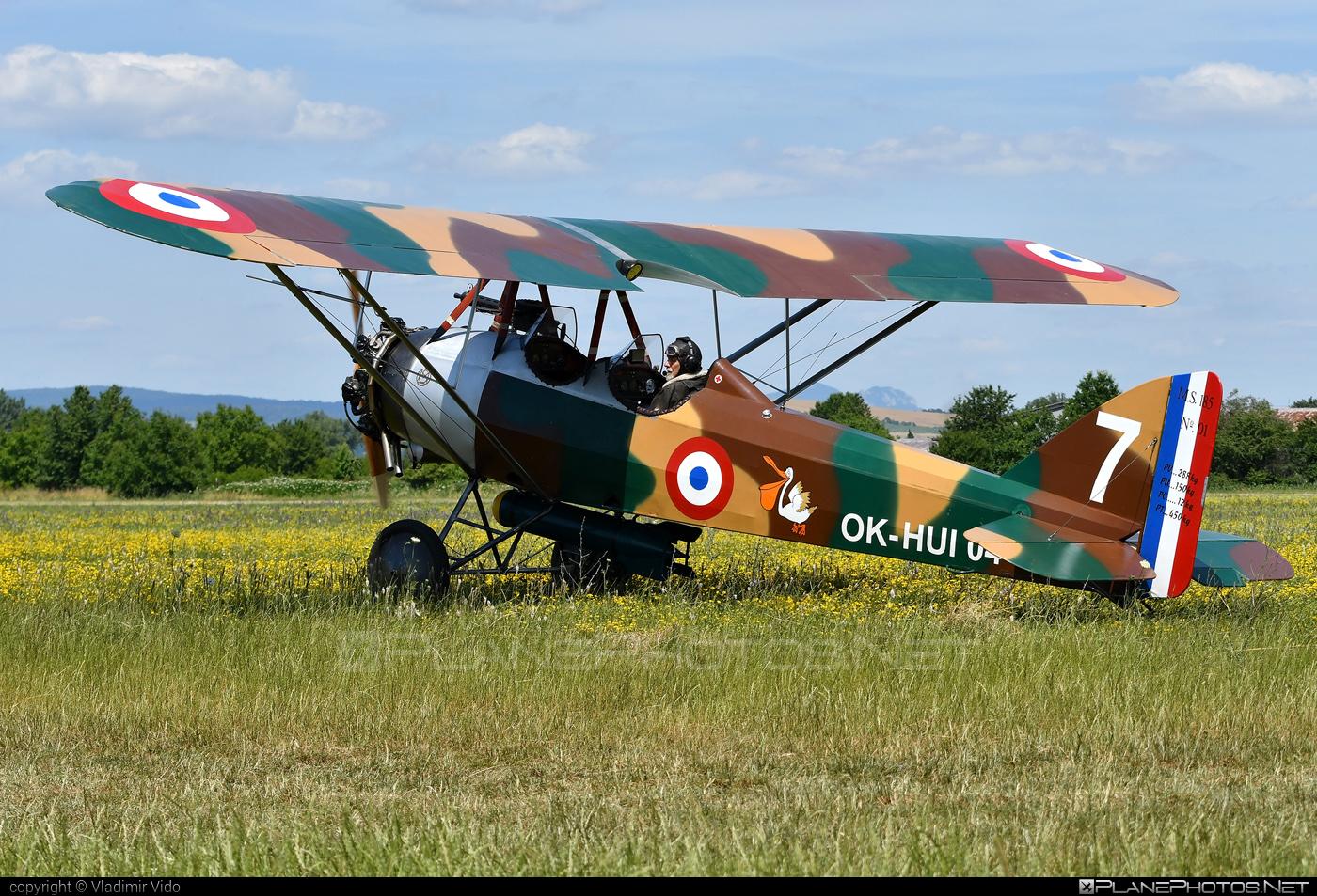 Morane Saulnier MS.185 (replica) - OK-HUI 04 operated by Private operator #moranesaulnier #moranesaulnier185 #ms185 #ms185replica