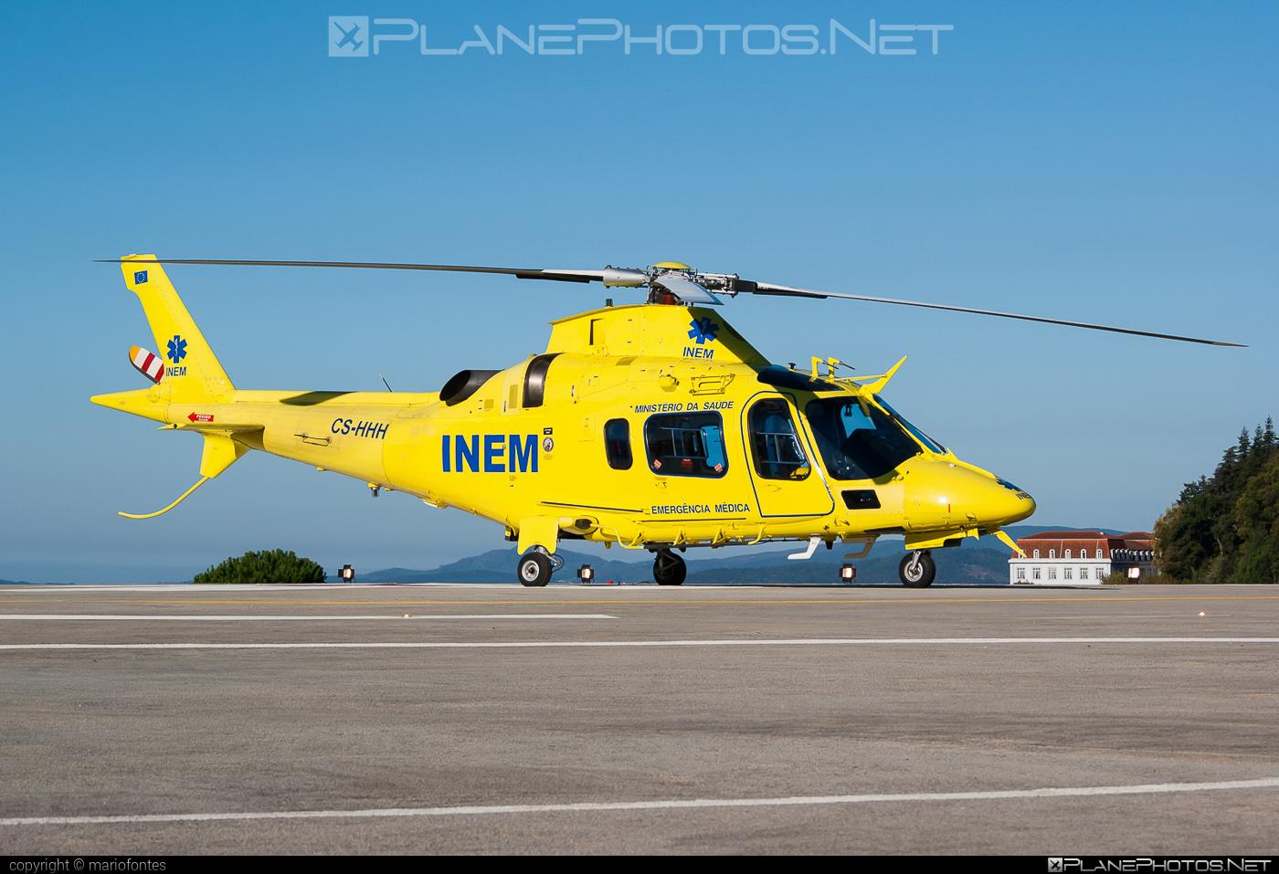 AgustaWestland AW109E Power - CS-HHH operated by Instituto Nacional de Emergência Médica de Portugal (INEM) #a109 #a109e #agustawestland #aw109 #aw109e #aw109epower #inem #institutonacionaldeemergenciamedicadeportugal