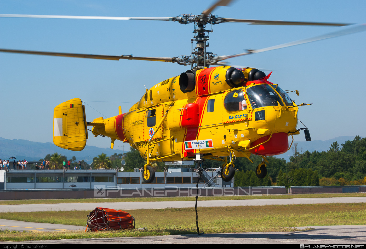 Kamov Ka-32A11BC - CS-HMM operated by Proteção Civil (Portugal Civil Protection) #ka32 #ka32a11bc #kamov #kamov32 #kamovka32 #portugalcivilprotection #protecaocivil