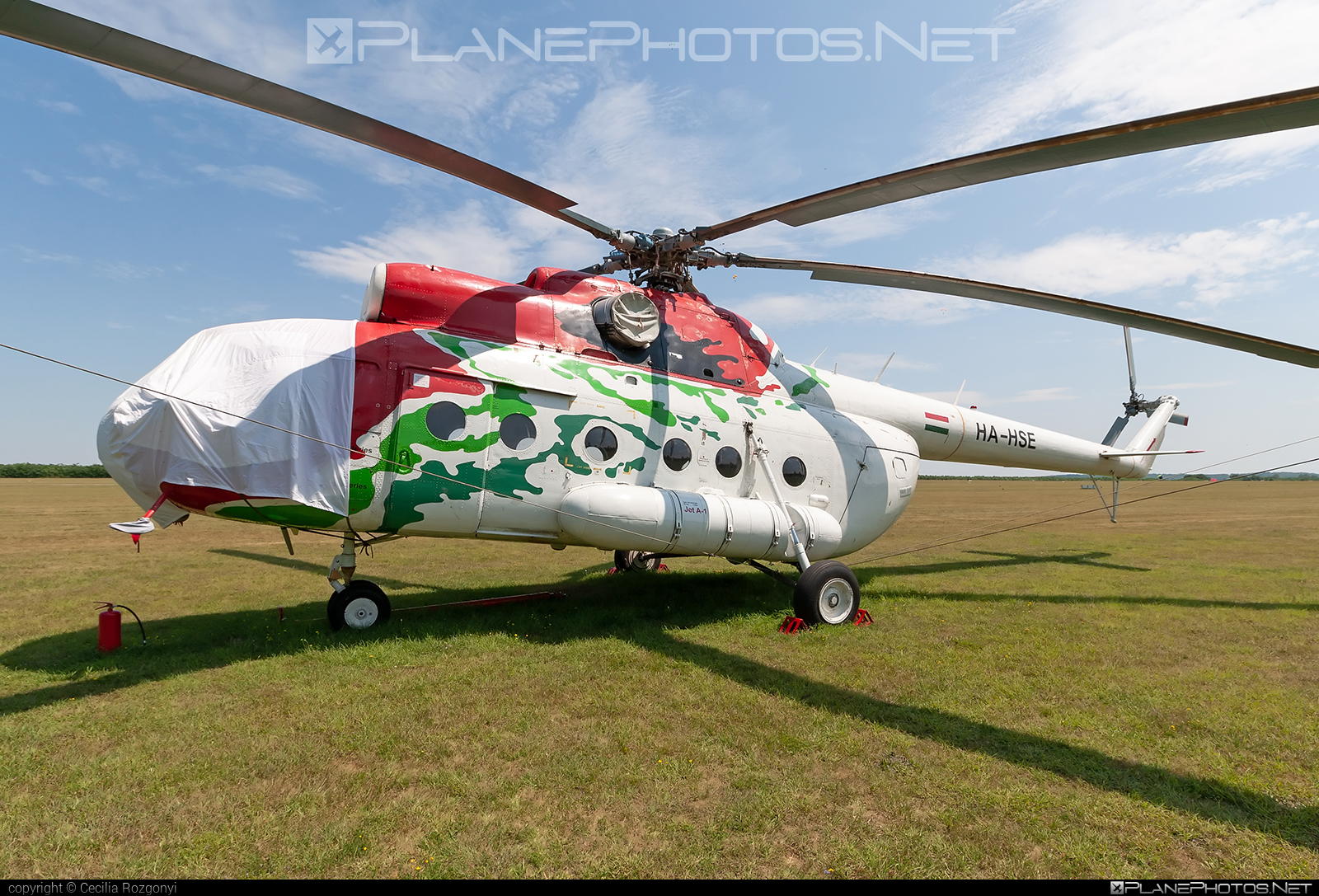 Mil Mi-8T - HA-HSE operated by Artic Group Kft. #articgroupkft #mil #milhelicopters