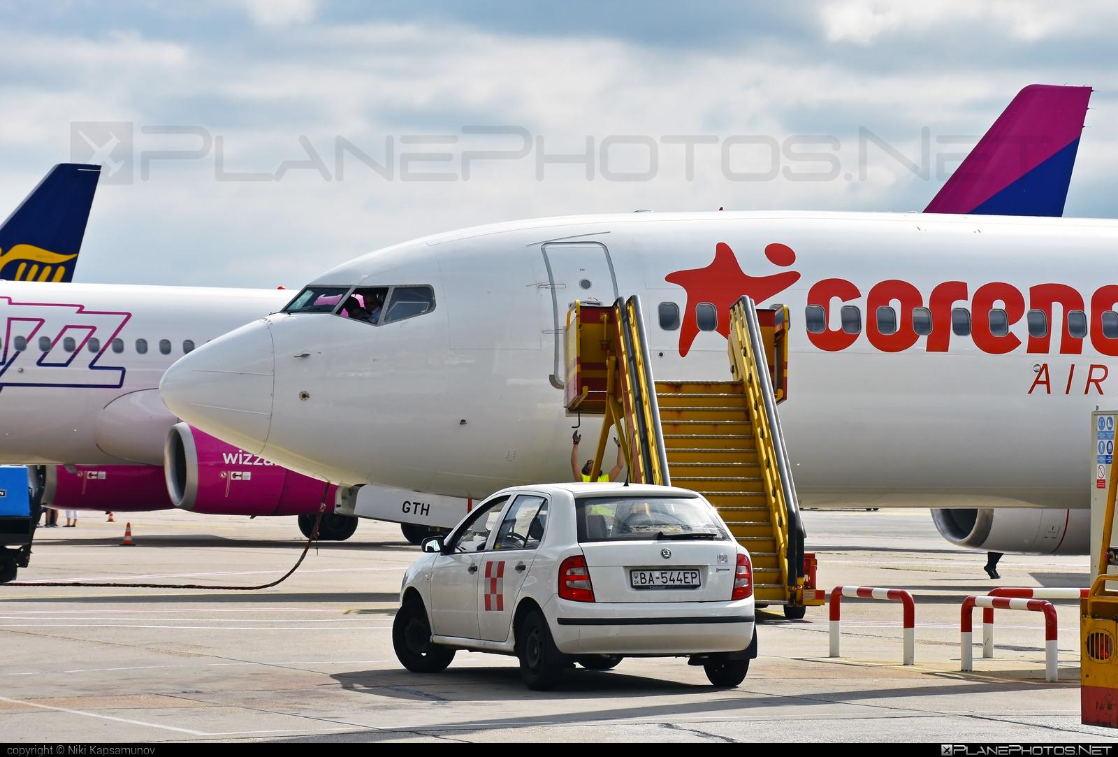 Boeing 737-800 - OM-GTH operated by Go2Sky #b737 #b737nextgen #b737ng #boeing #boeing737 #go2sky