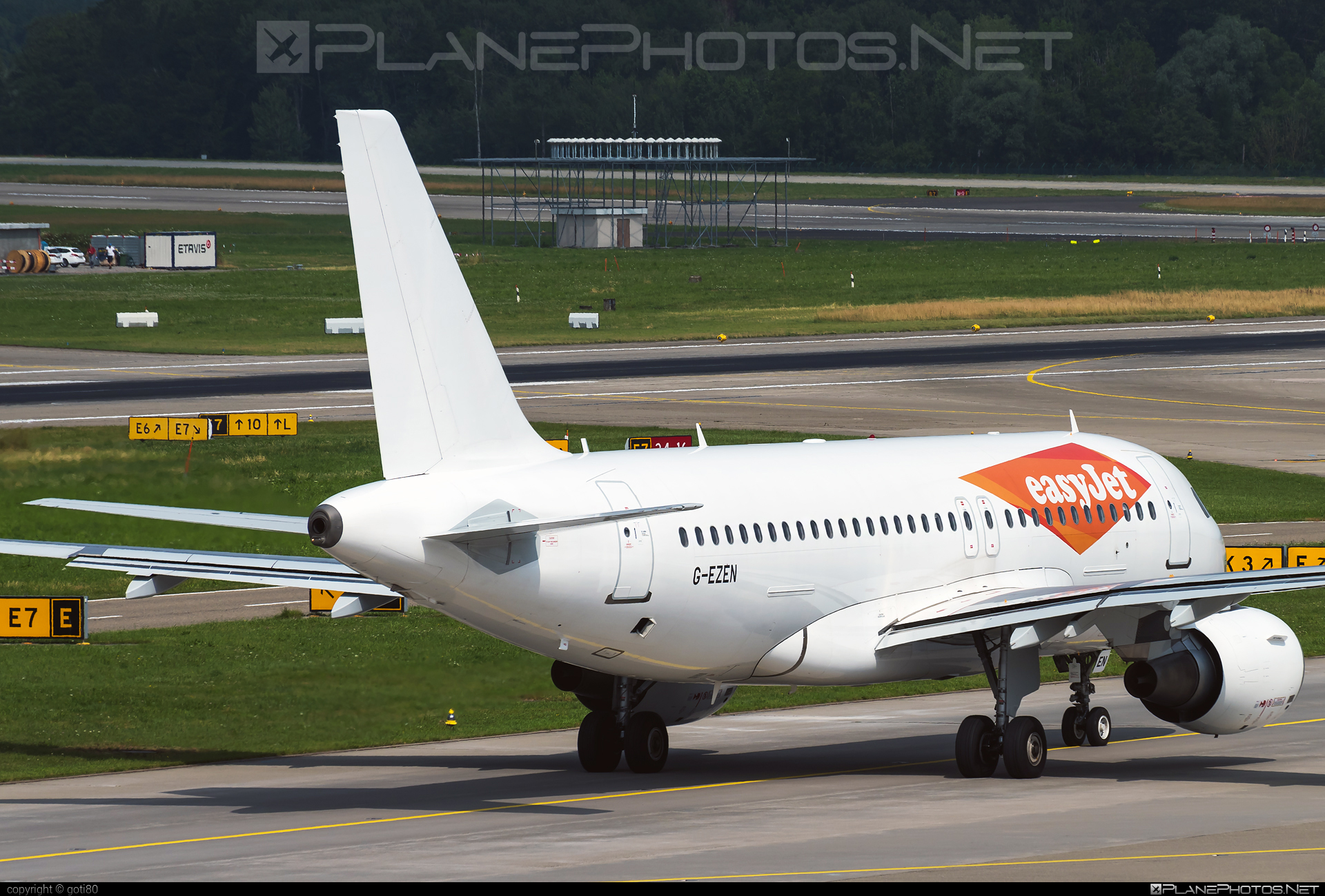 Airbus A319-111 - G-EZEN operated by easyJet #a319 #a320family #airbus #airbus319 #easyjet