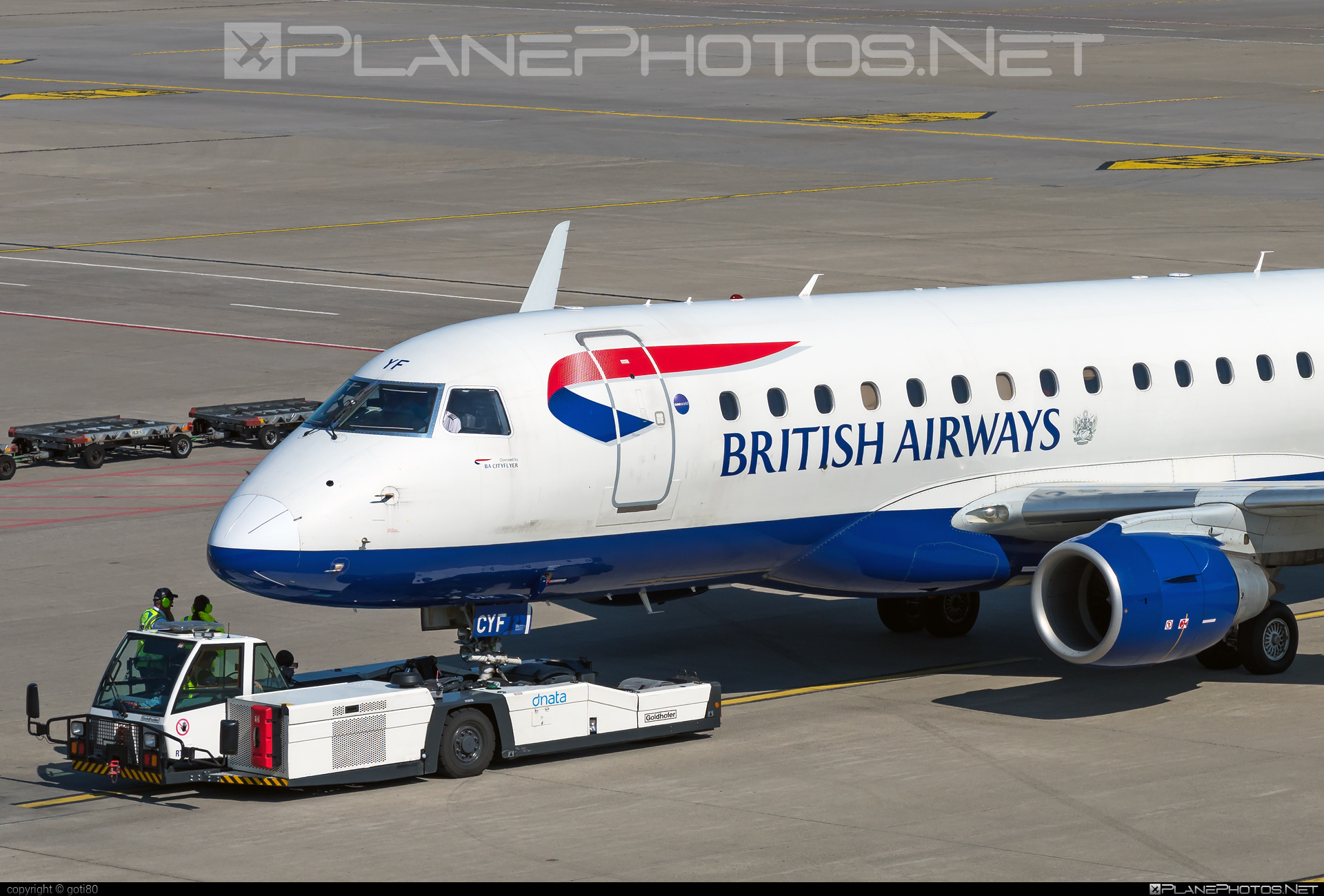 Embraer E170STD (ERJ-170-100STD) - G-LCYF operated by BA CityFlyer #e170 #embraer #embraer170 #embraer170std #erj170 #erj170100 #erj170100std #erj170std
