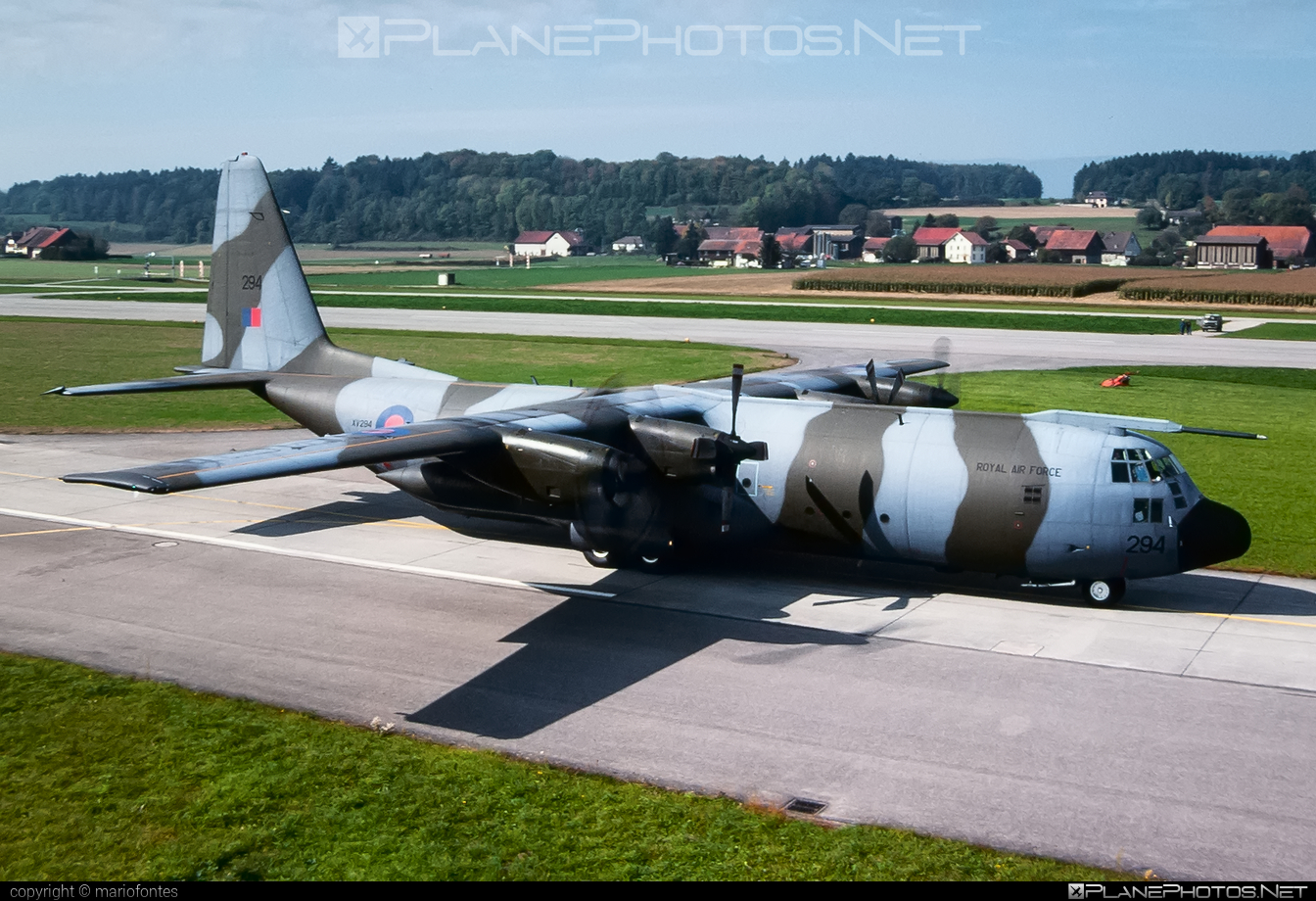 Lockheed Hercules C.1 - XV294 operated by Royal Air Force (RAF) #lockheed #raf #royalairforce