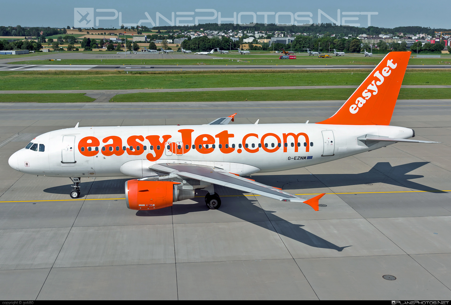 Airbus A319-111 - G-EZNM operated by easyJet #a319 #a320family #airbus #airbus319 #easyjet