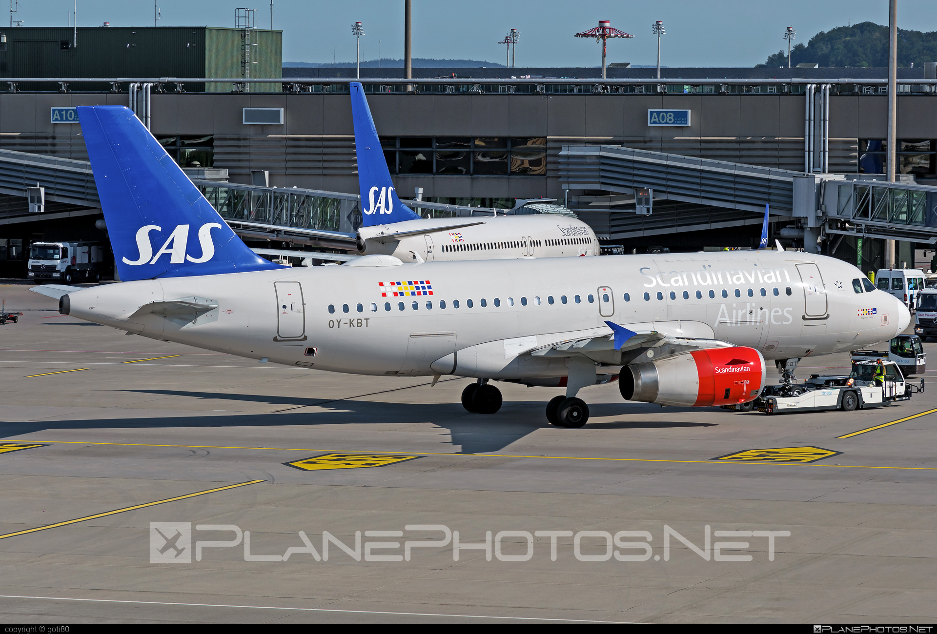 Airbus A319-132 - OY-KBT operated by Scandinavian Airlines (SAS) #a319 #a320family #airbus #airbus319 #sas #sasairlines #scandinavianairlines