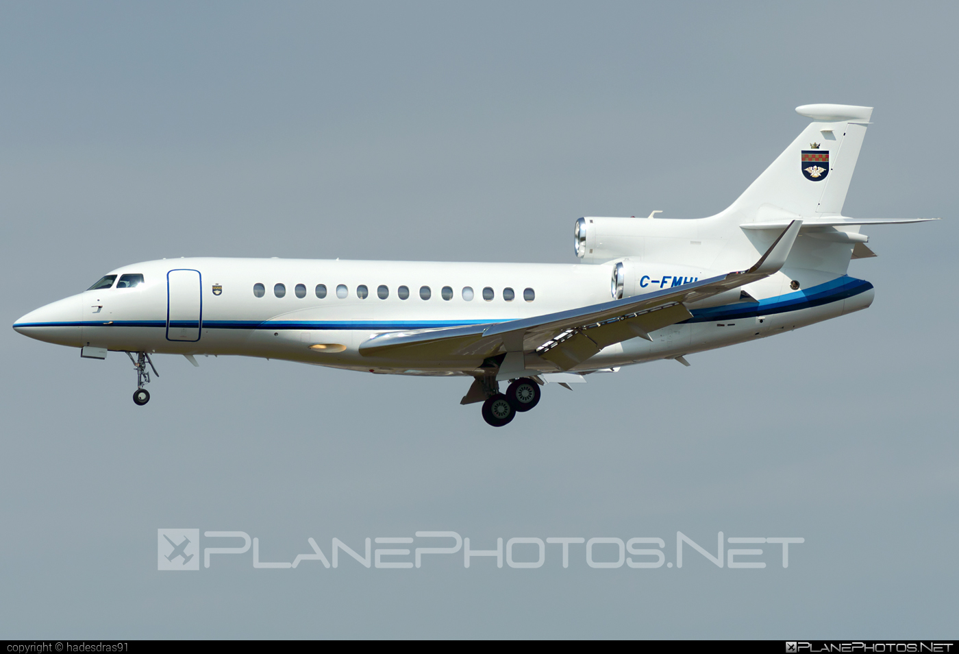 Dassault Falcon 7X - C-FMHL operated by Private operator #dassault #dassaultfalcon #dassaultfalcon7x #falcon7x