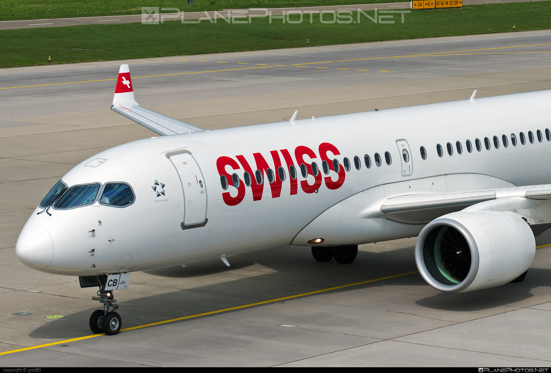 Bombardier BD-500-1A11 C Series CS300 - HB-JCB operated by Swiss International Air Lines #bombardier #cs300 #cseries #cseries300 #swiss #swissairlines
