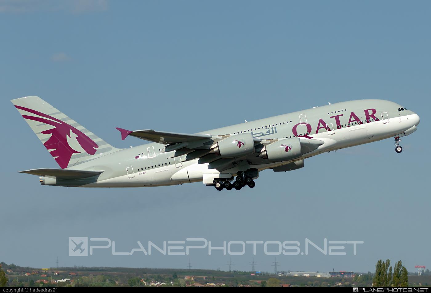 Airbus A380-861 - A7-API operated by Qatar Airways #a380 #a380family #airbus #airbus380 #qatarairways