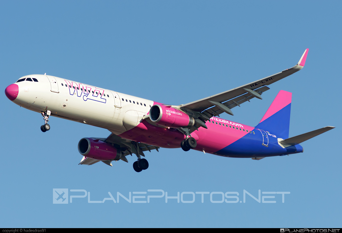 Airbus A321-231 - HA-LXH operated by Wizz Air #a320family #a321 #airbus #airbus321 #wizz #wizzair