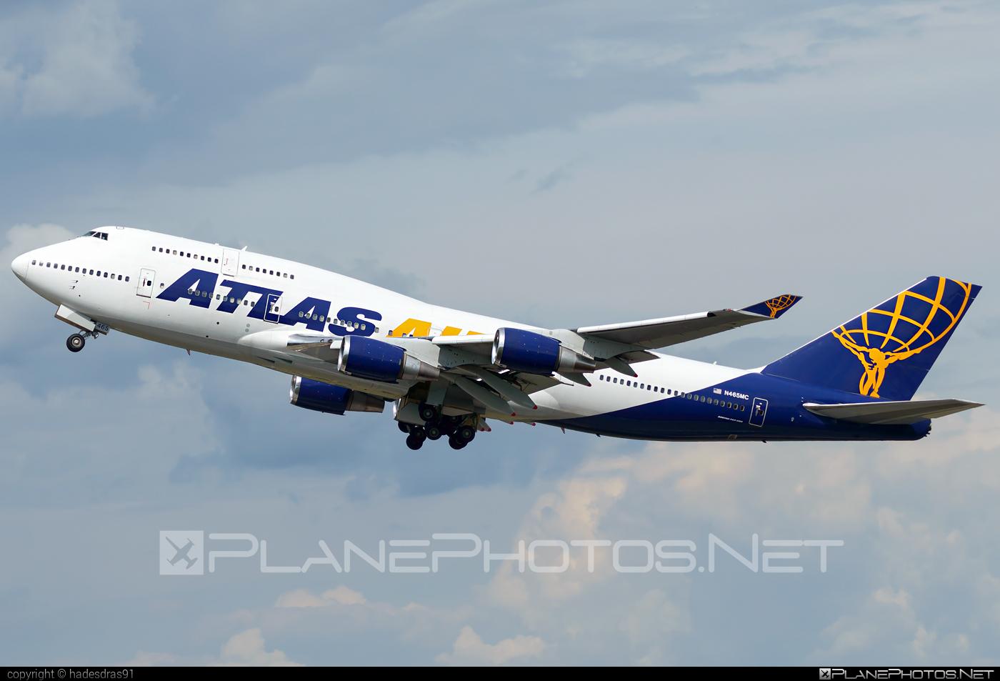 Boeing 747-400 - N465MC operated by Atlas Air #b747 #boeing #boeing747 #jumbo