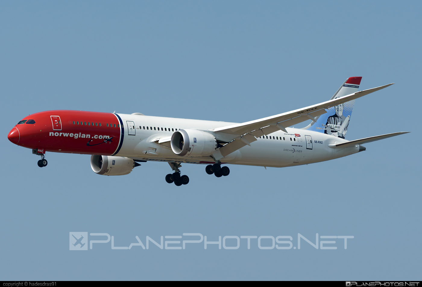 Boeing 787-9 Dreamliner - SE-RXZ operated by Norwegian Air Sweden #b787 #boeing #boeing787 #dreamliner #norwegian #norwegianair #norwegianairsweden